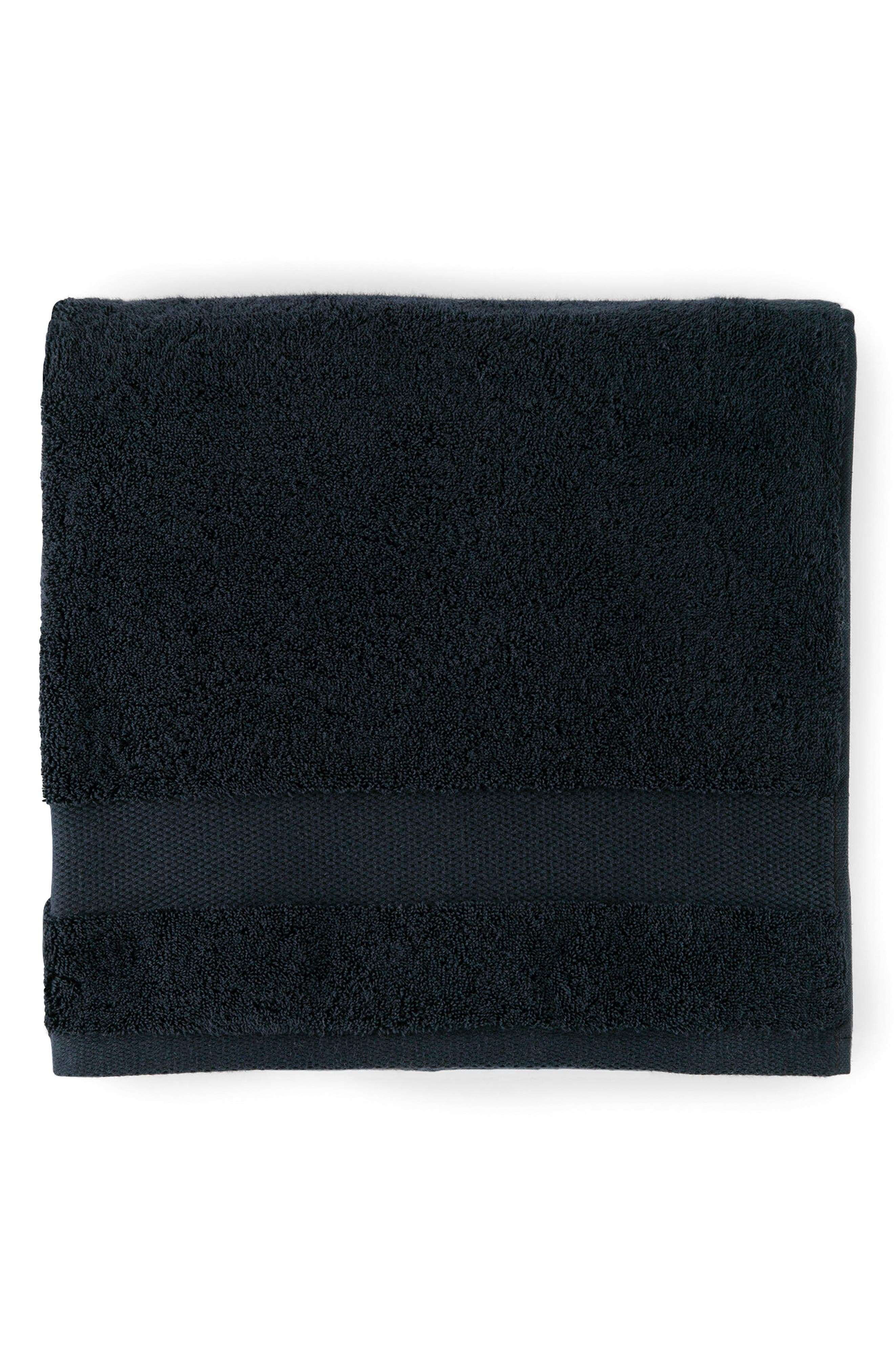 Bello Hand Towel,                         Main,                         color, Black