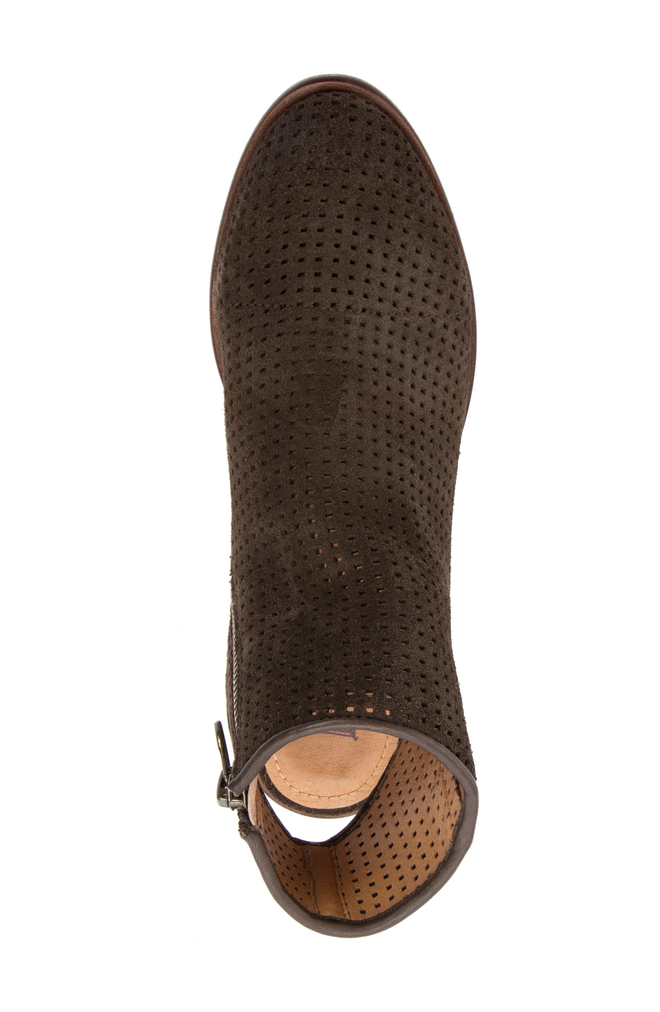 Alternate Image 5  - Latigo Izadore Perforated Open Heel Bootie (Women)