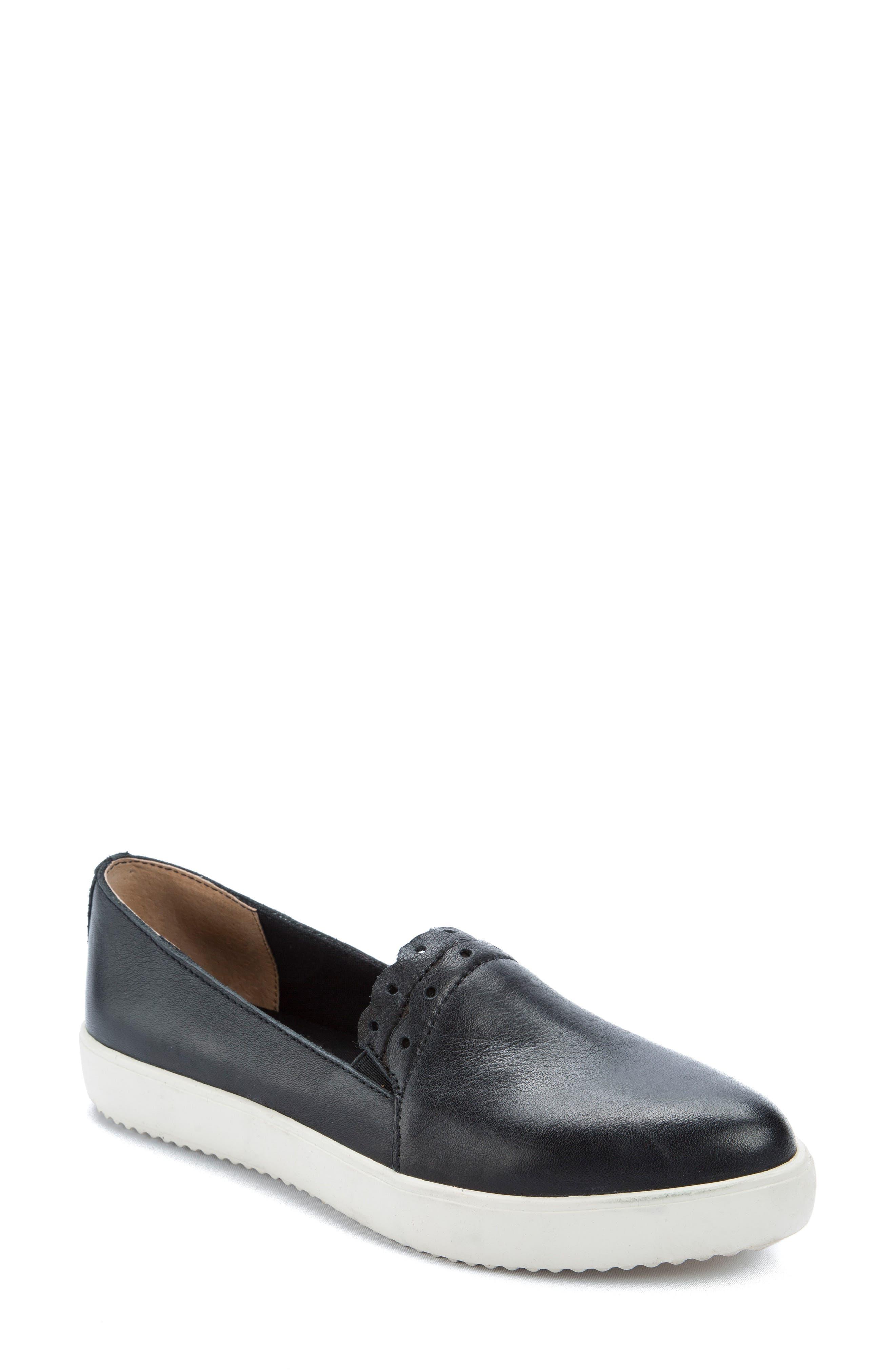 Roe Slip-On Sneaker,                         Main,                         color, Black