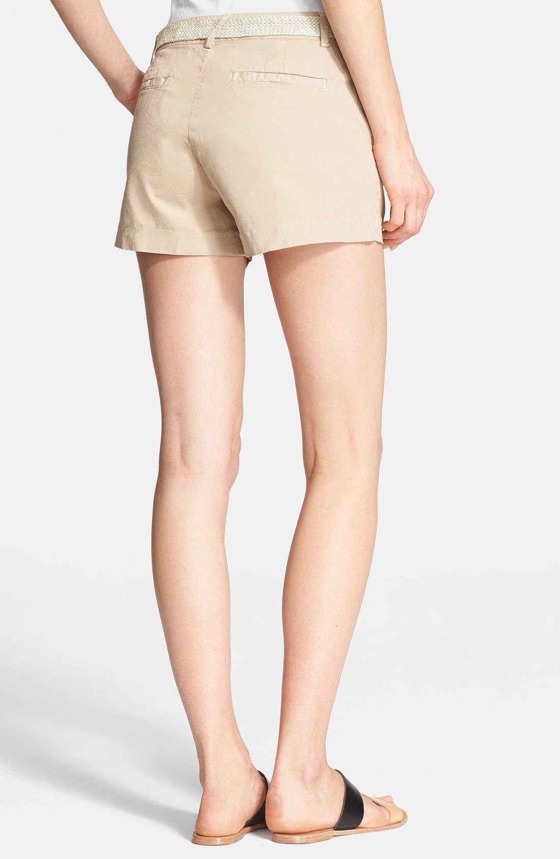 Alternate Image 2  - Joie 'Jardin' Belted Chino Shorts