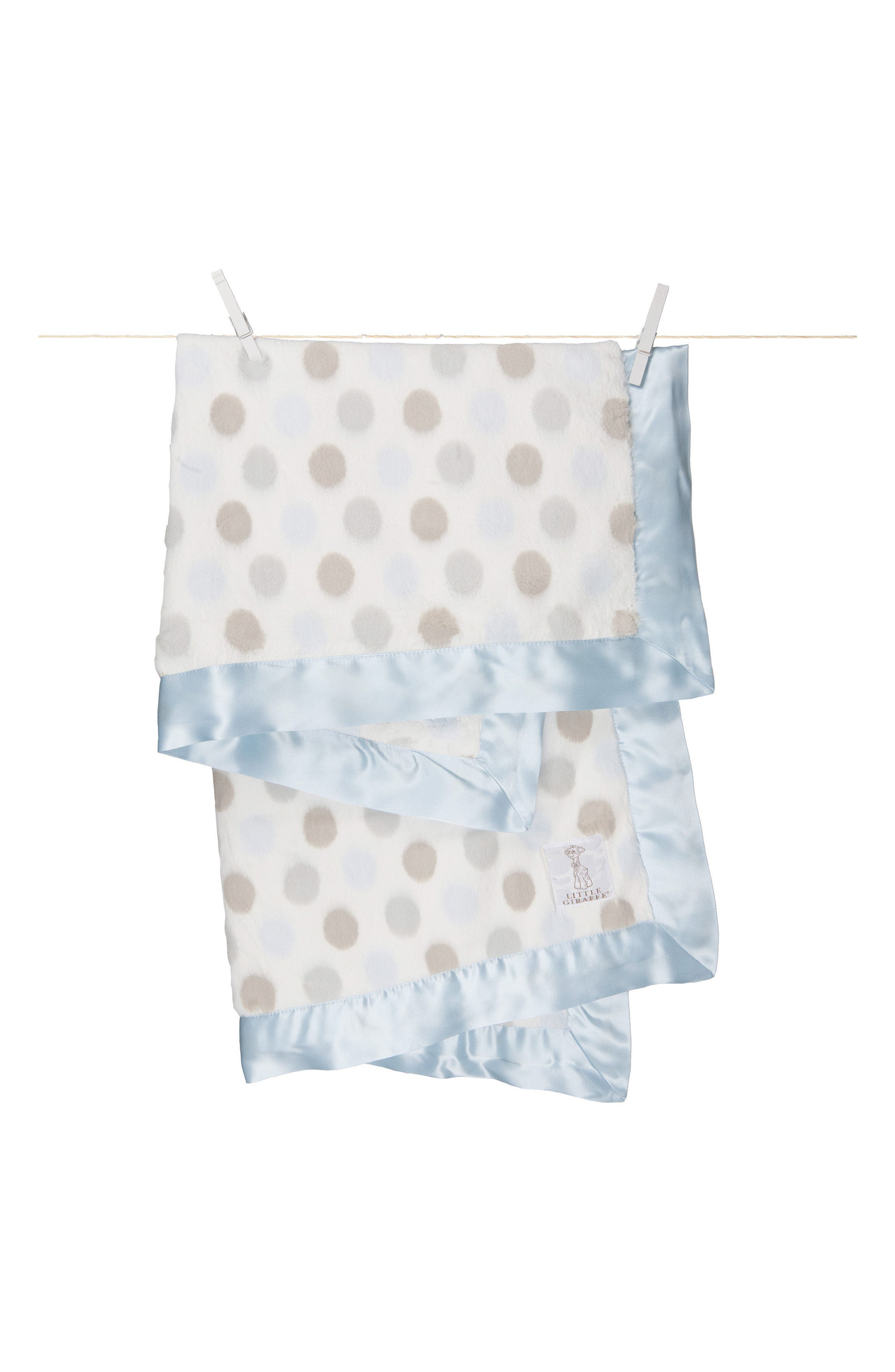 Alternate Image 1 Selected - Little Giraffe 'Luxe Dot' Blanket