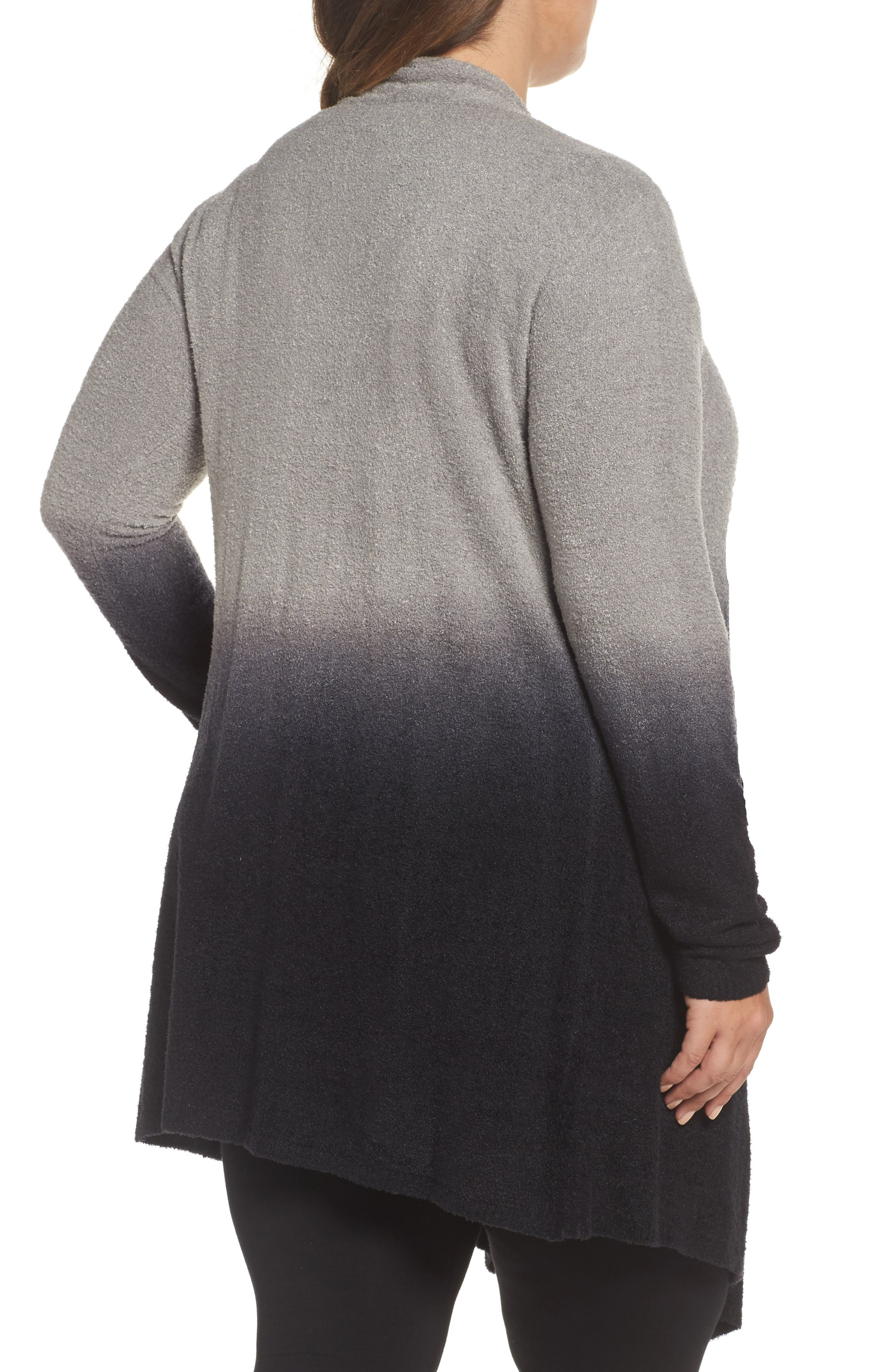 Alternate Image 2  - Barefoot Dreams® CozyChic Lite® Calypso Wrap Cardigan (Plus Size) (Nordstrom Exclusive)