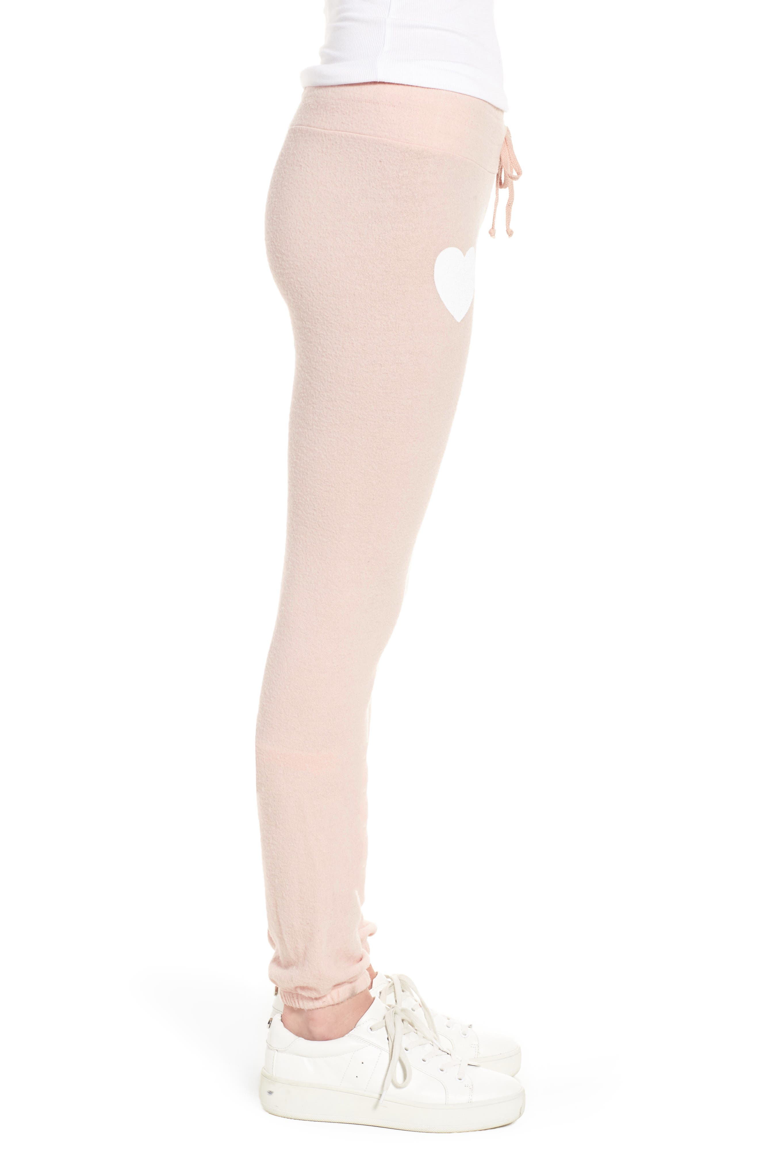 Rosé All Day Skinny Pants,                             Alternate thumbnail 4, color,                             Rose