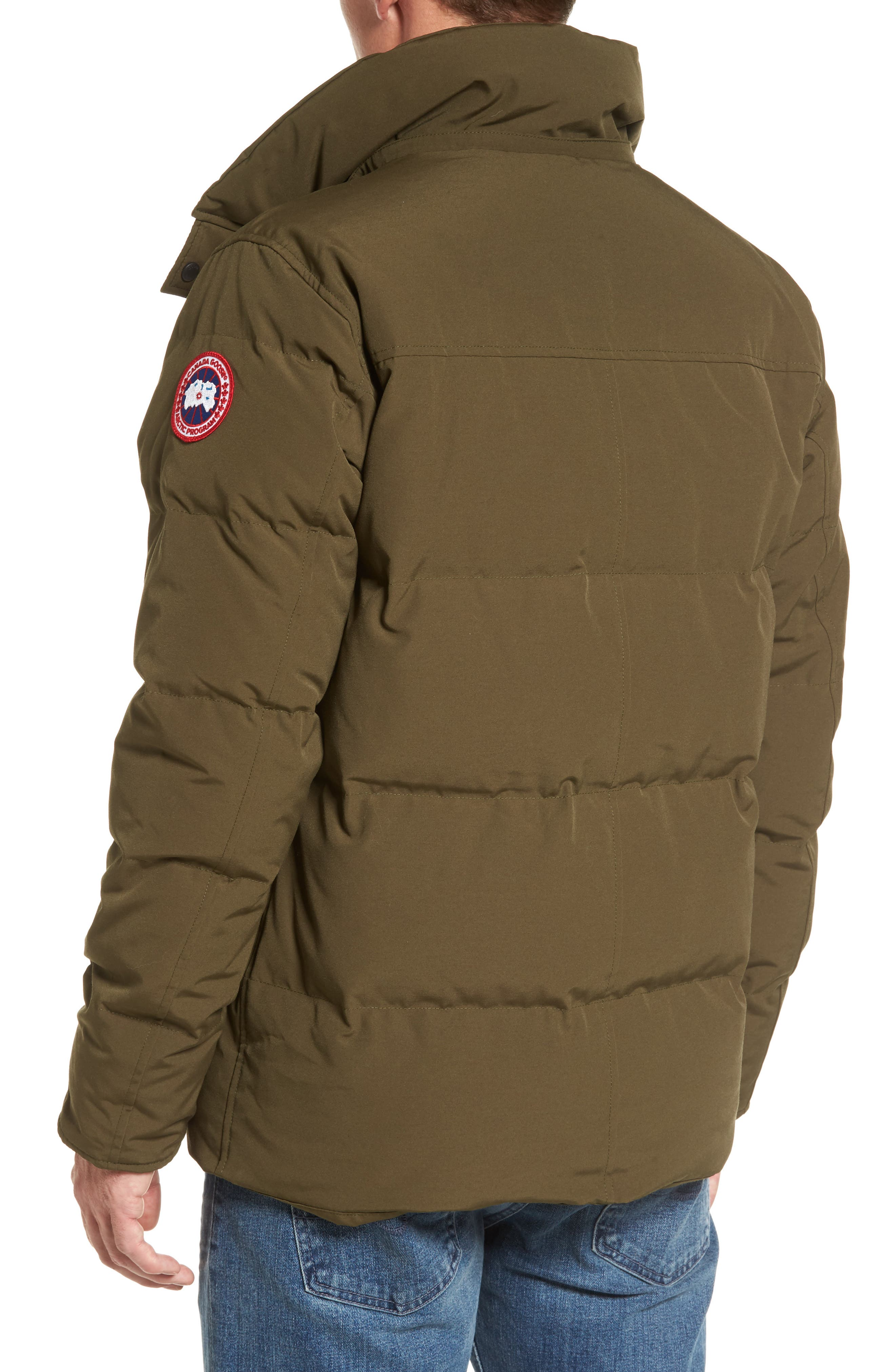 Alternate Image 4  - Canada Goose Wyndham Slim Fit Genuine Coyote Fur Trim Down Jacket