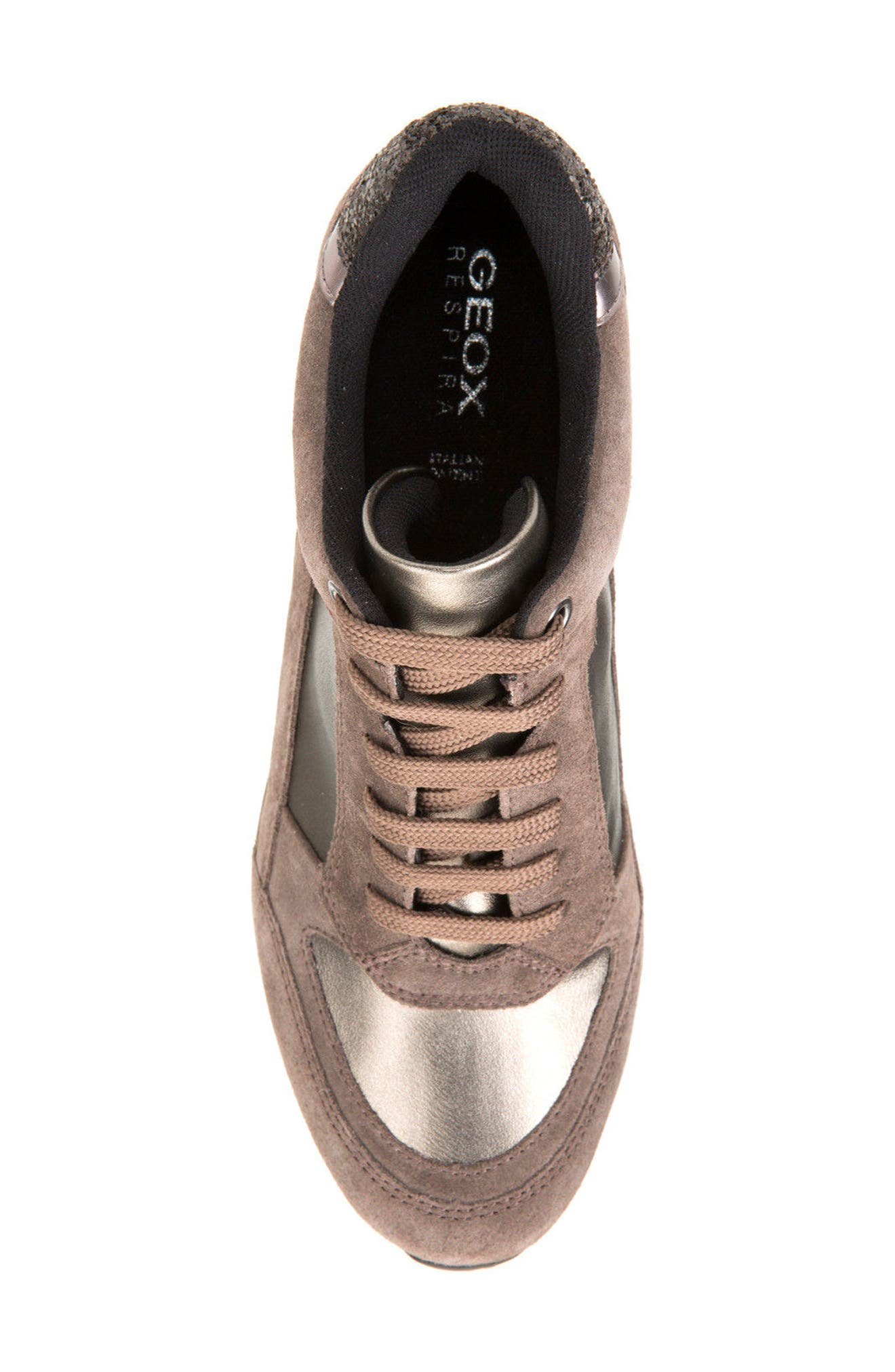Alternate Image 5  - Geox Nydame Wedge Sneaker (Women)