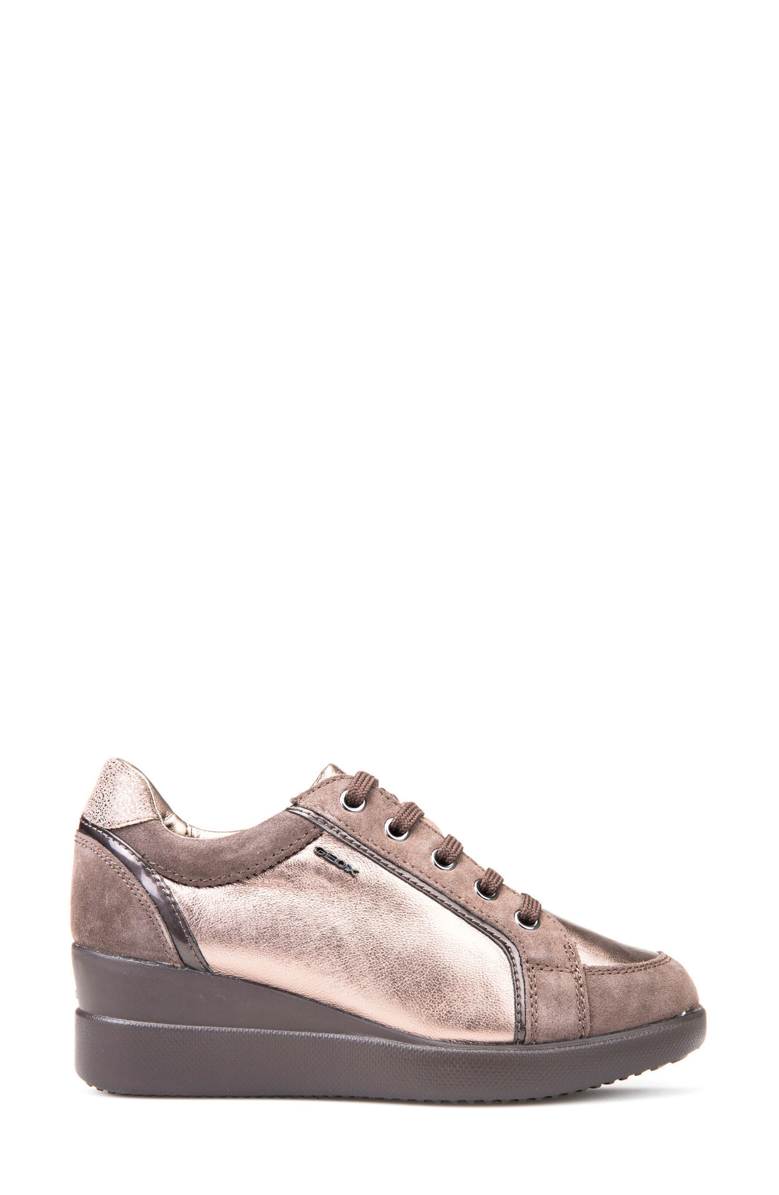 Alternate Image 3  - Geox Stardust Wedge Sneaker (Women)