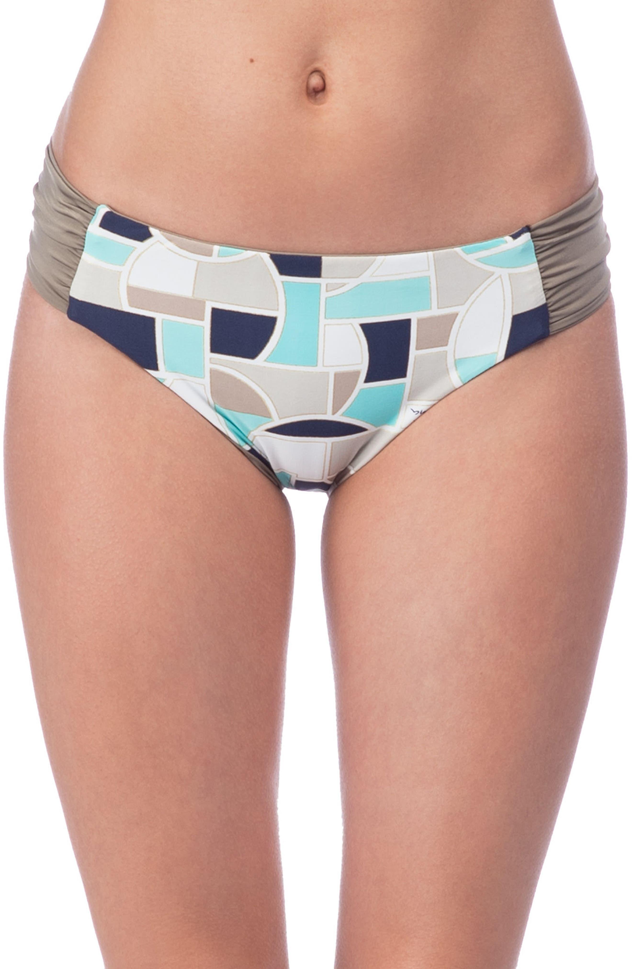 Trina Turk Disco Deco Reversible Bikini Bottoms