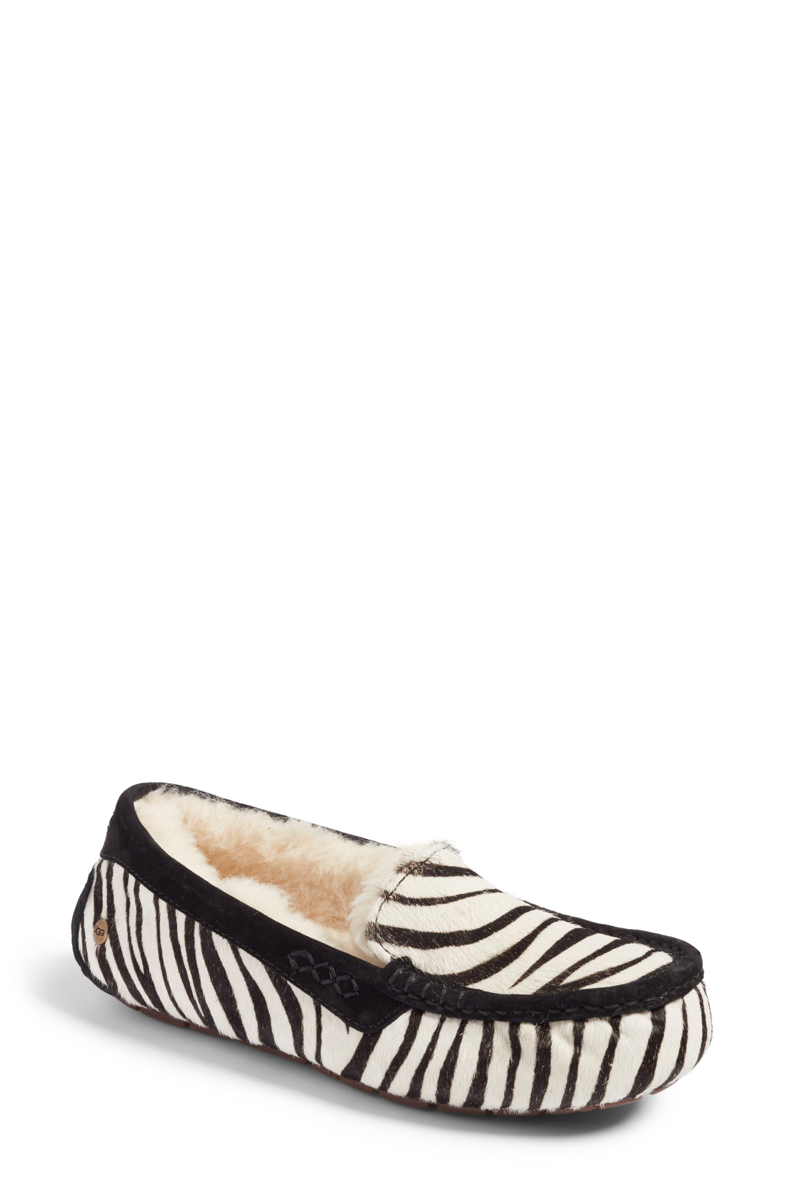 UGG® Ansley Genuine Calf Hair Slipper (Women)