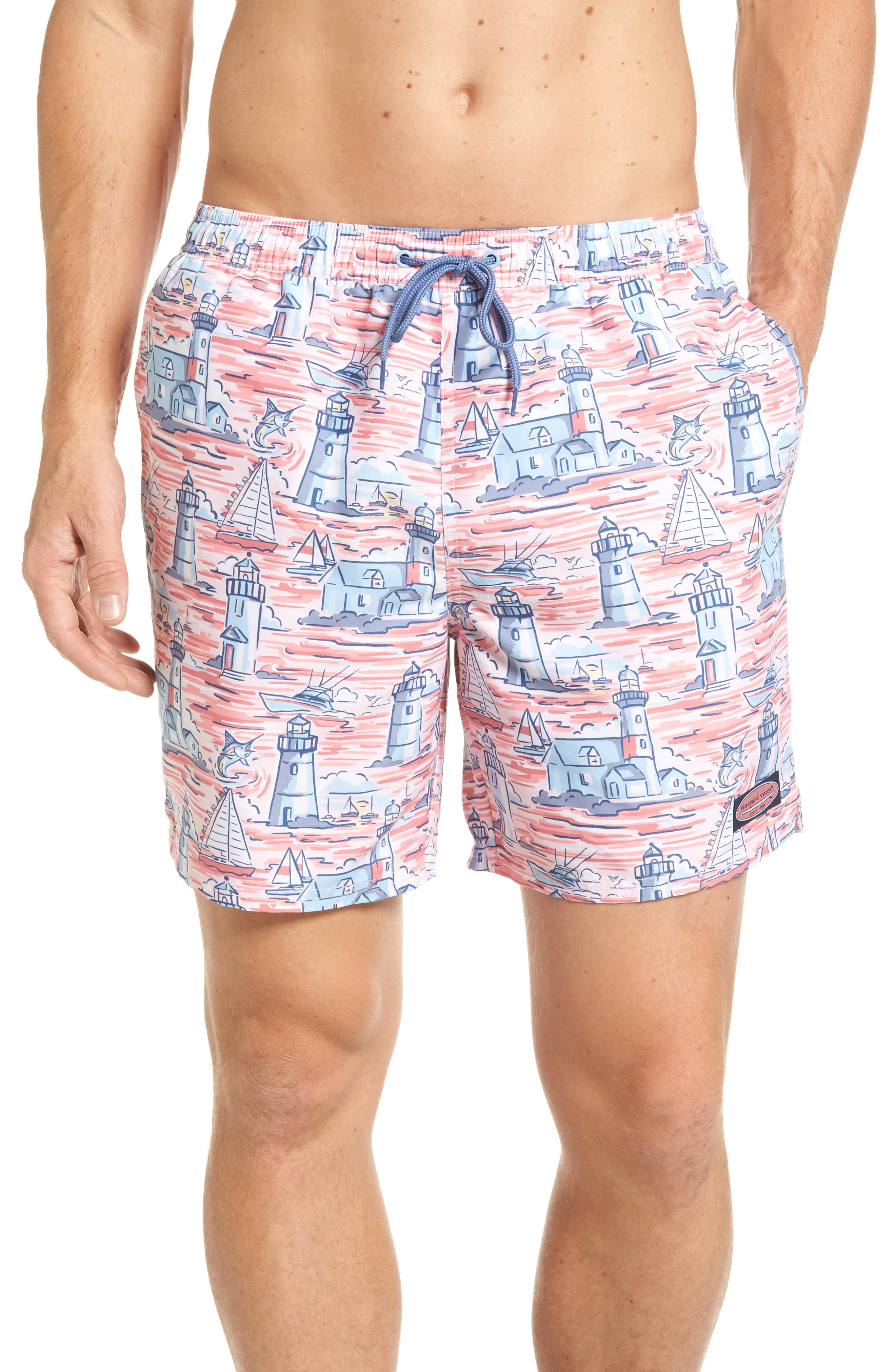 Vineyard Vines Lighthouse Chappy Swim Trunks