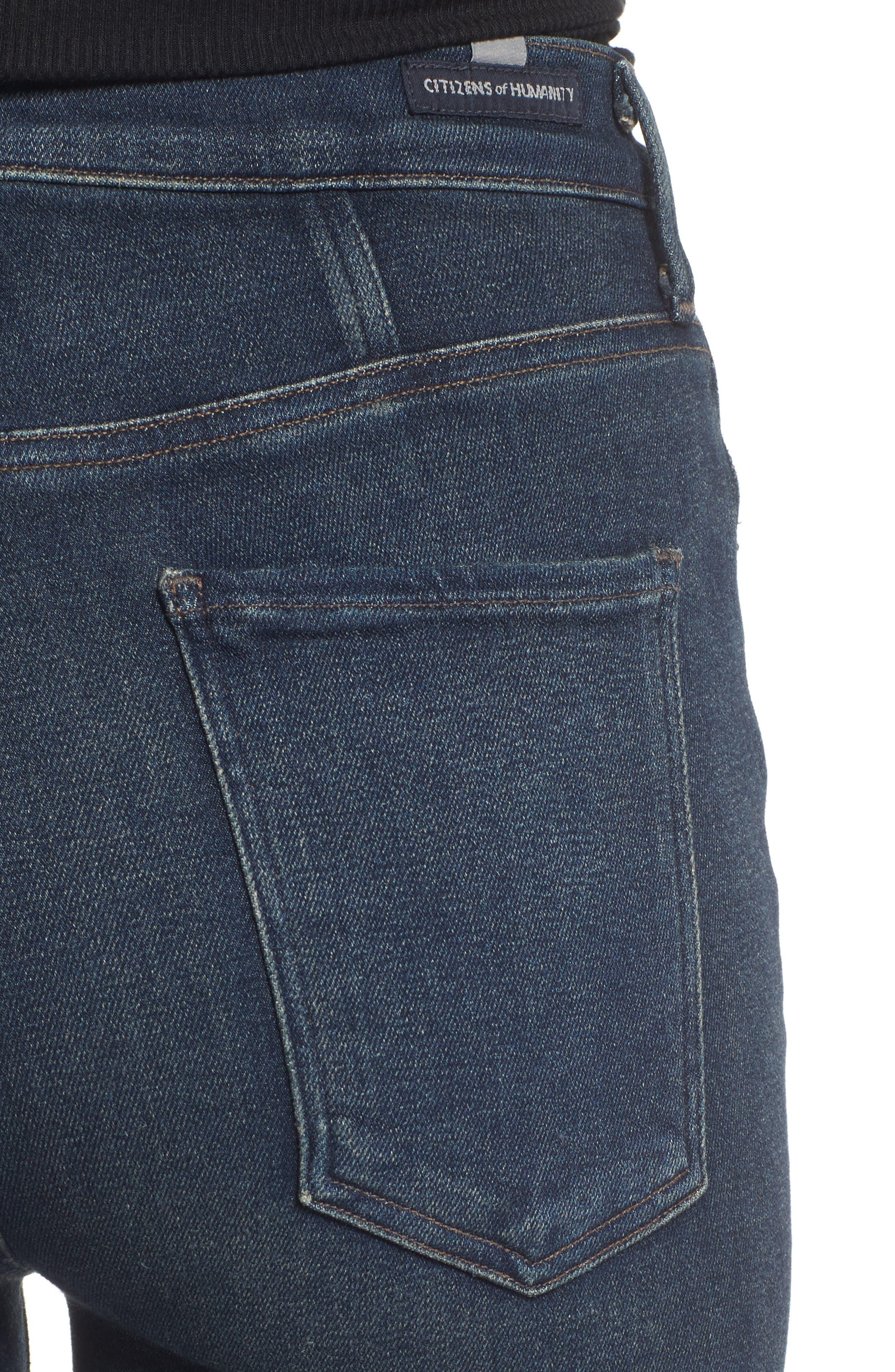 Alternate Image 4  - Citizens of Humanity Chrissy High Waist Skinny Jeans (Haze)