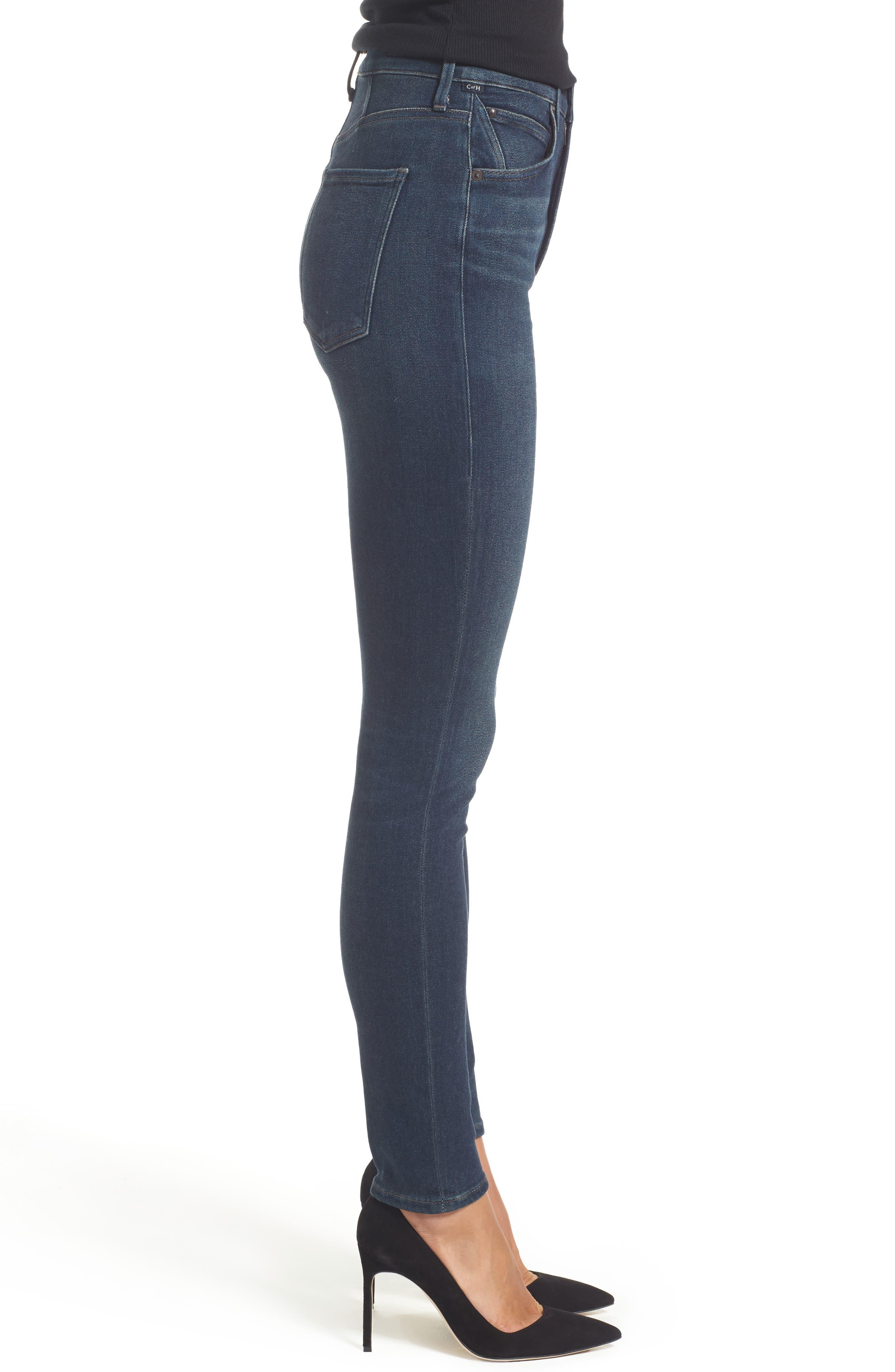 Alternate Image 3  - Citizens of Humanity Chrissy High Waist Skinny Jeans (Haze)