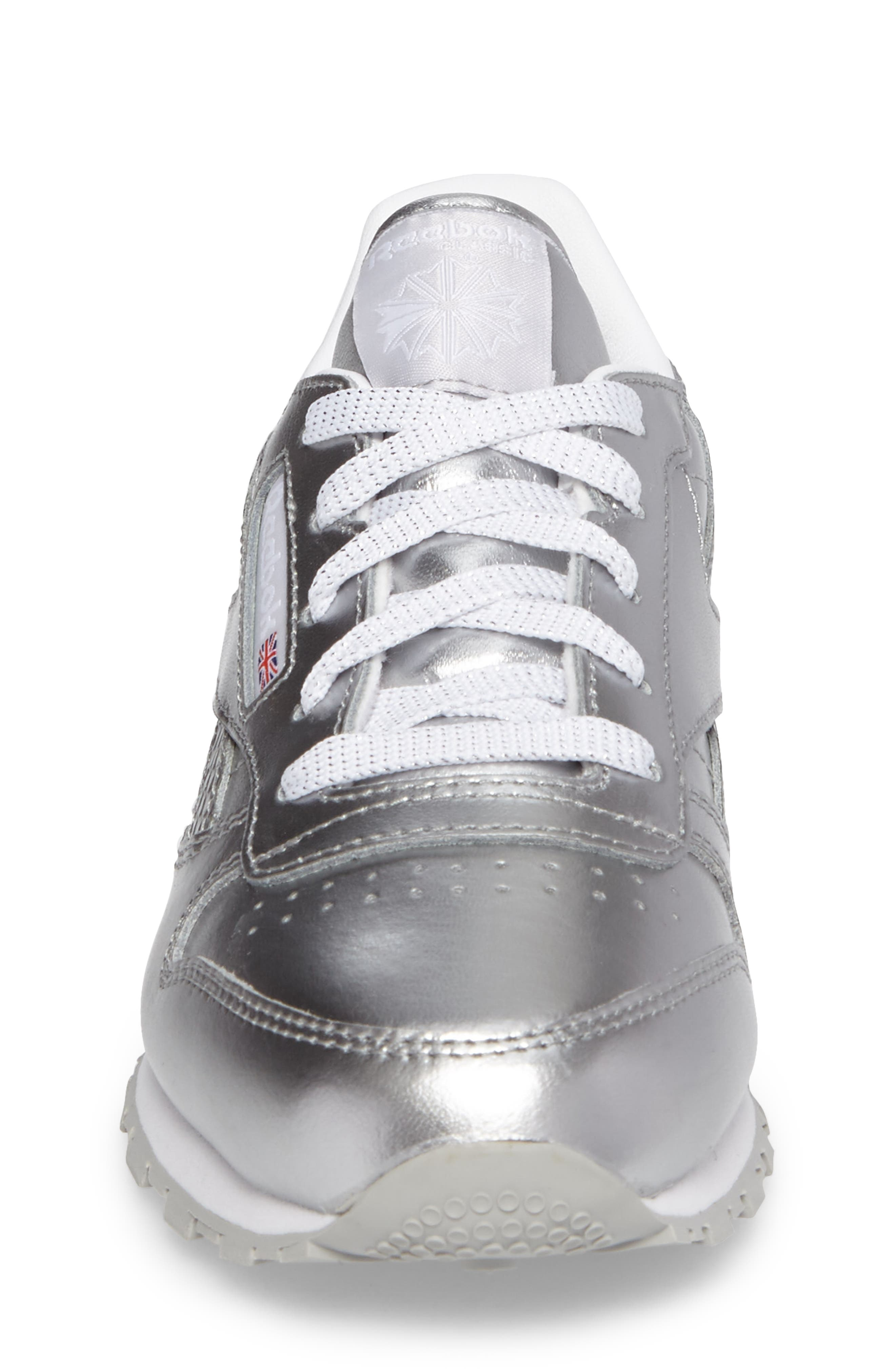 Alternate Image 4  - Reebok Classic Metallic Sneaker (Baby, Walker, Toddler, Little Kid & Big Kid)