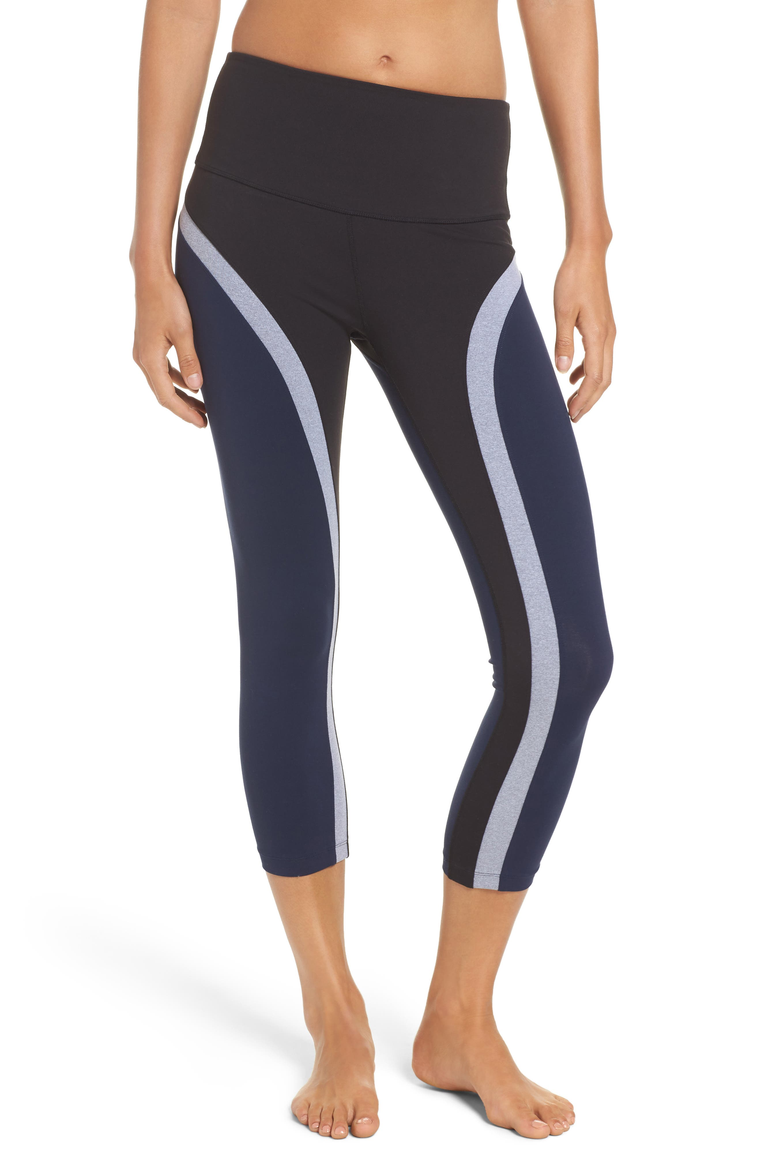 SPLITS59 High Waist Capri Leggings