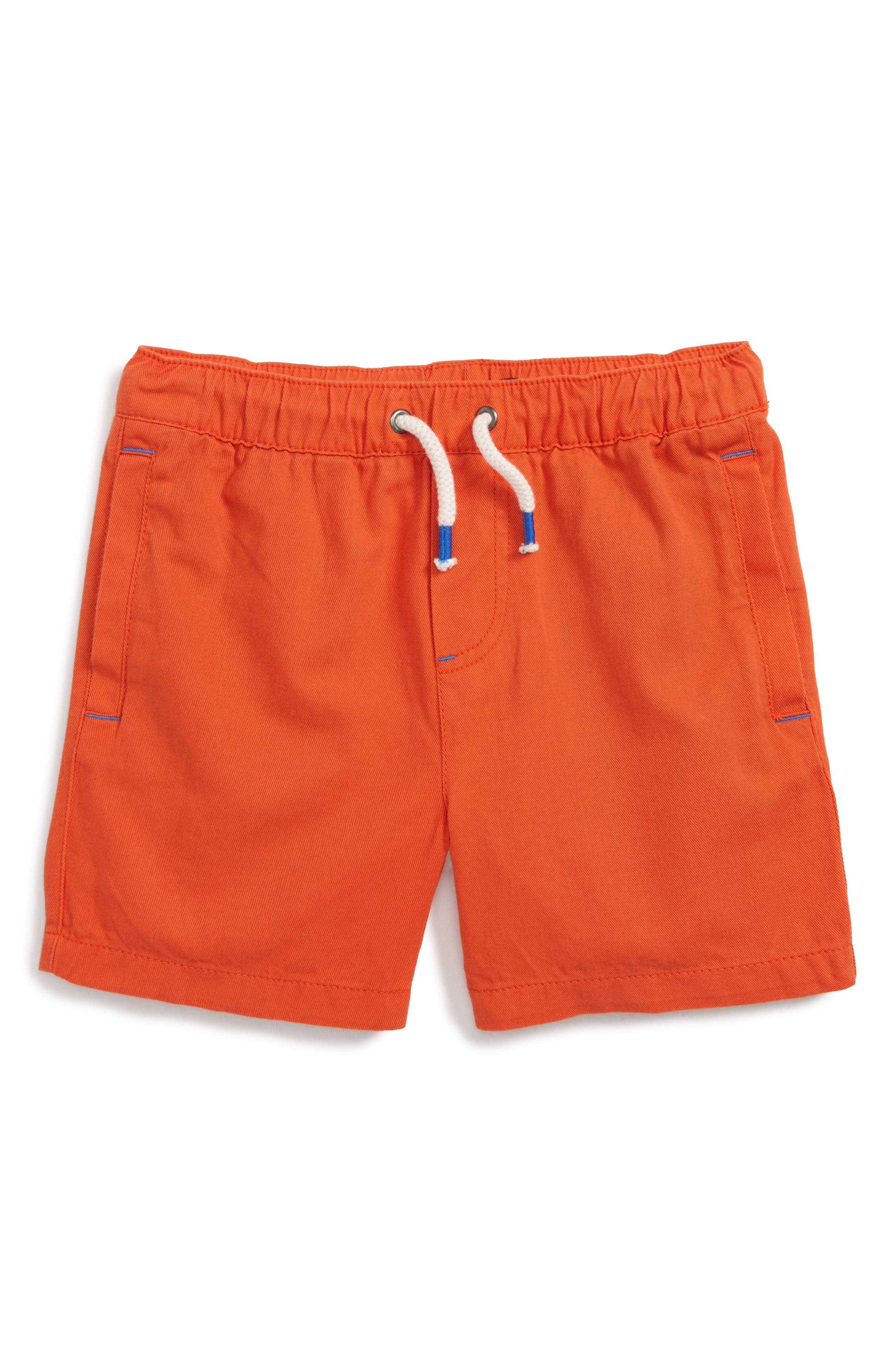 Mini Boden Drawstring Shorts (Toddler Boys, Little Boys & Big Boys)