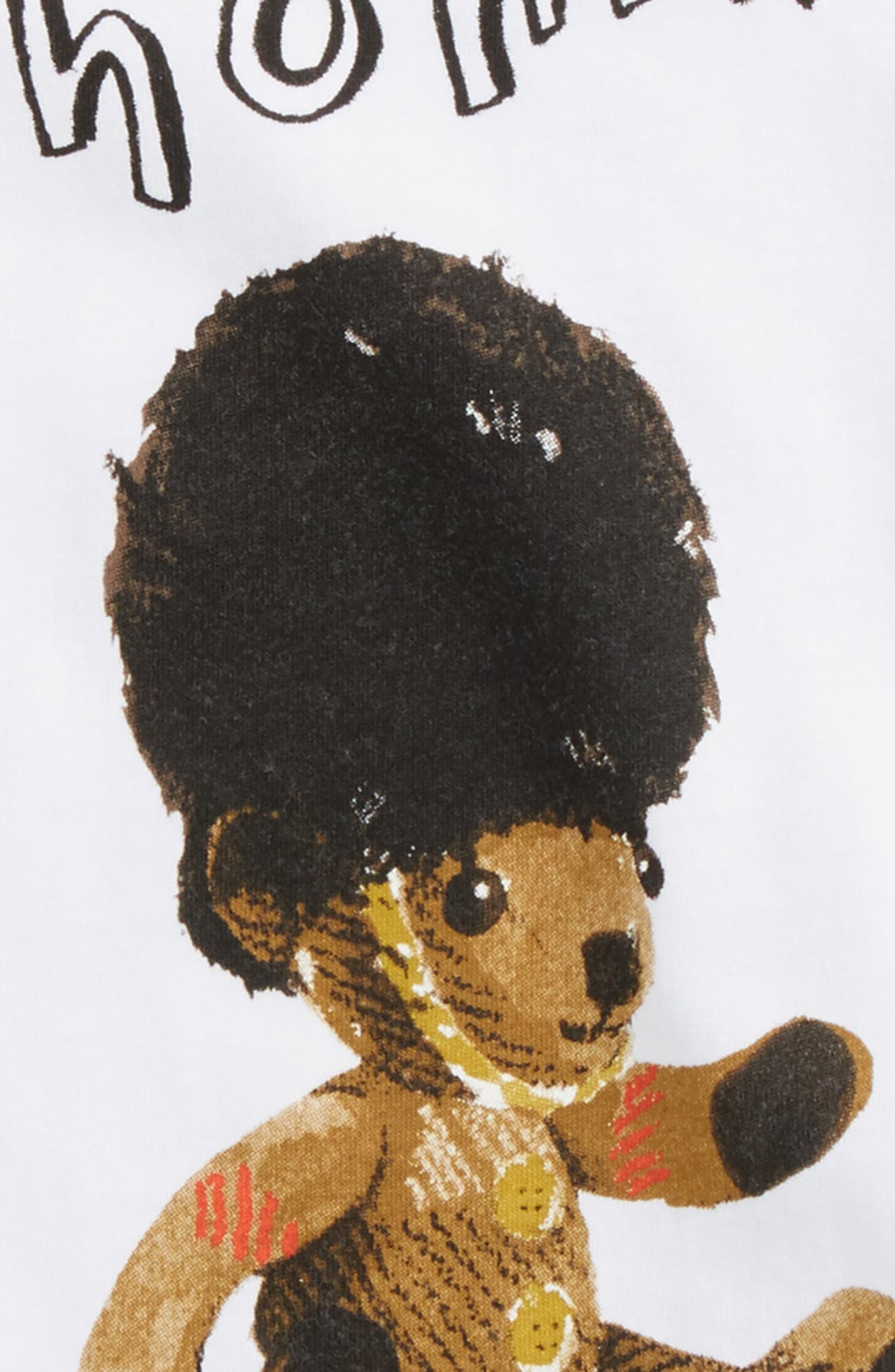 Alternate Image 2  - Burberry Thomas Bear Graphic T-Shirt (Toddler Boys)