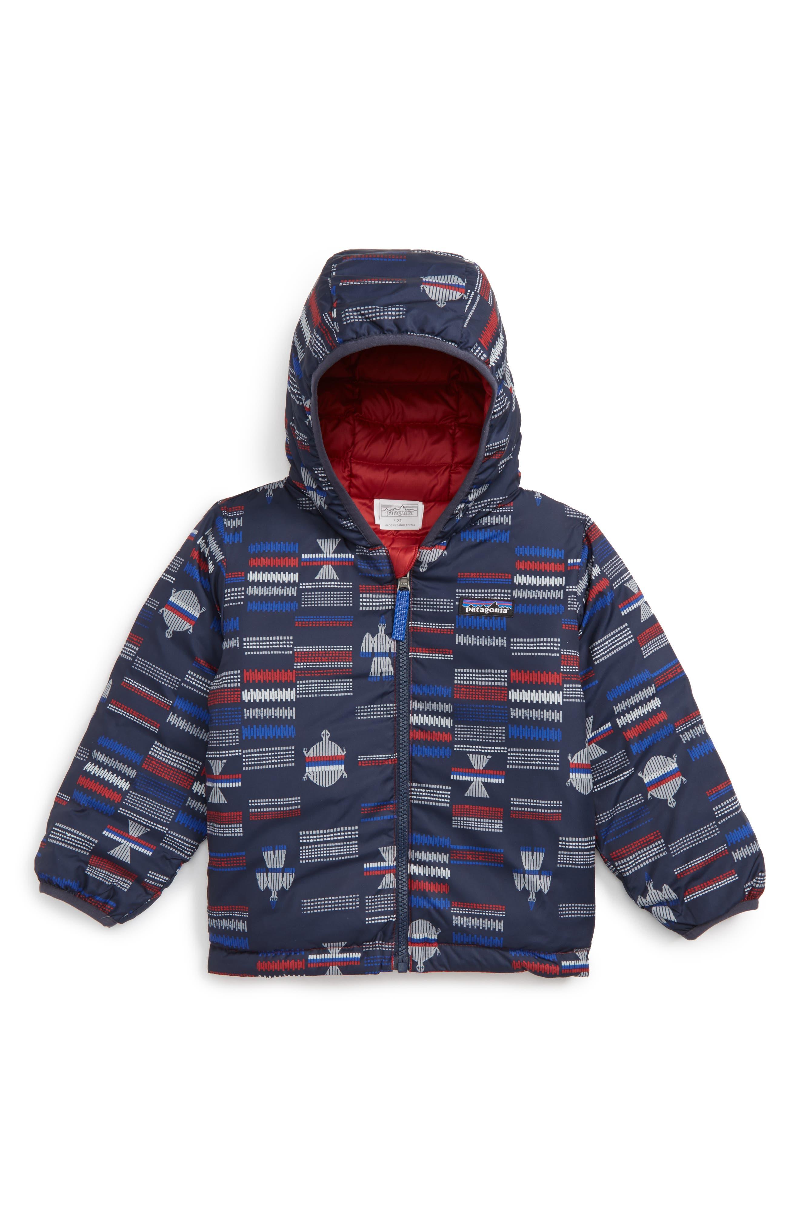 Patagonia Reversible Down Sweater Hoodie (Toddler Boys)