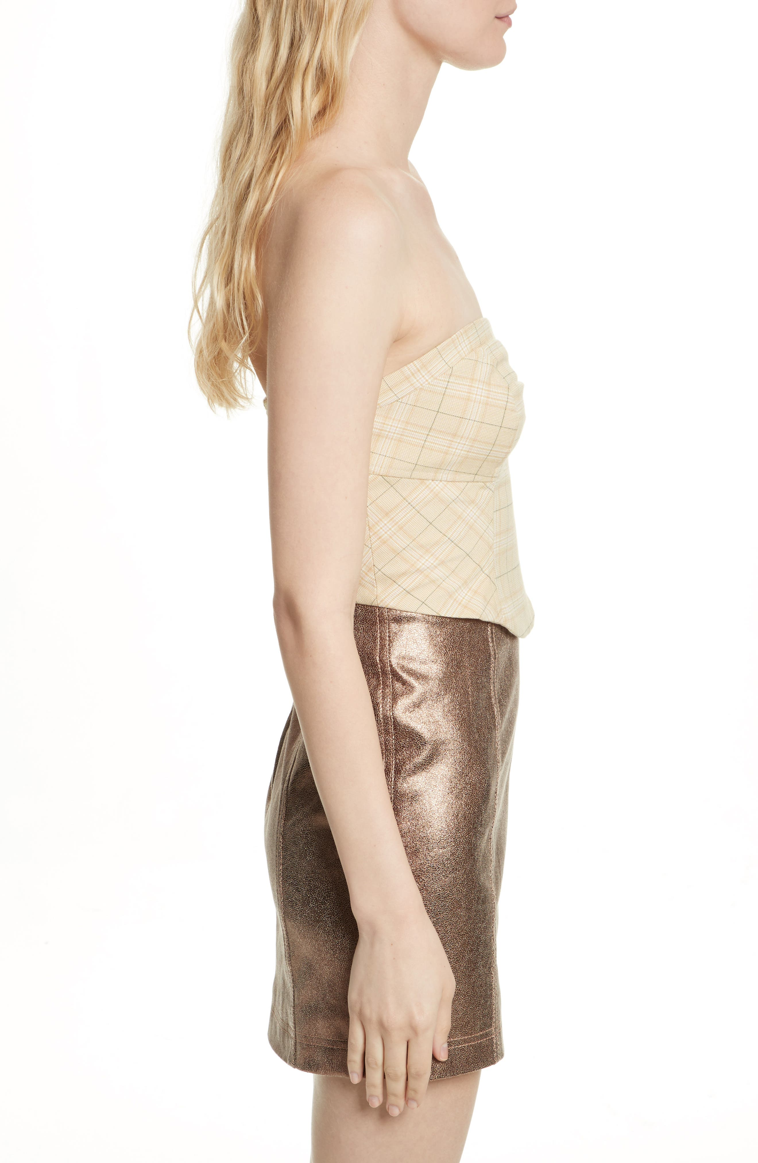 Out West Corset Top,                             Alternate thumbnail 5, color,                             Taupe