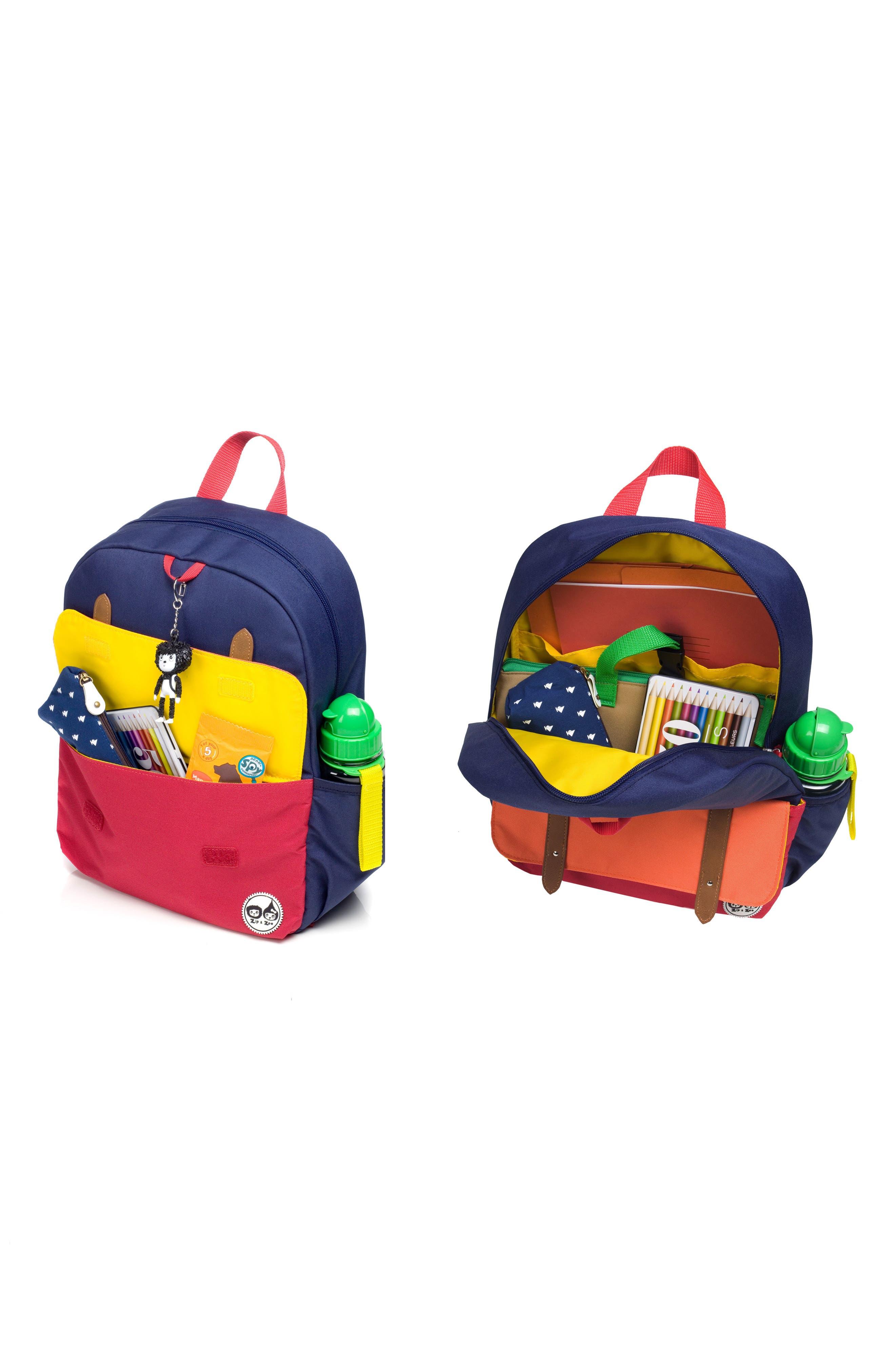 Alternate Image 3  - Babymel Zip & Zoe Junior Backpack Set