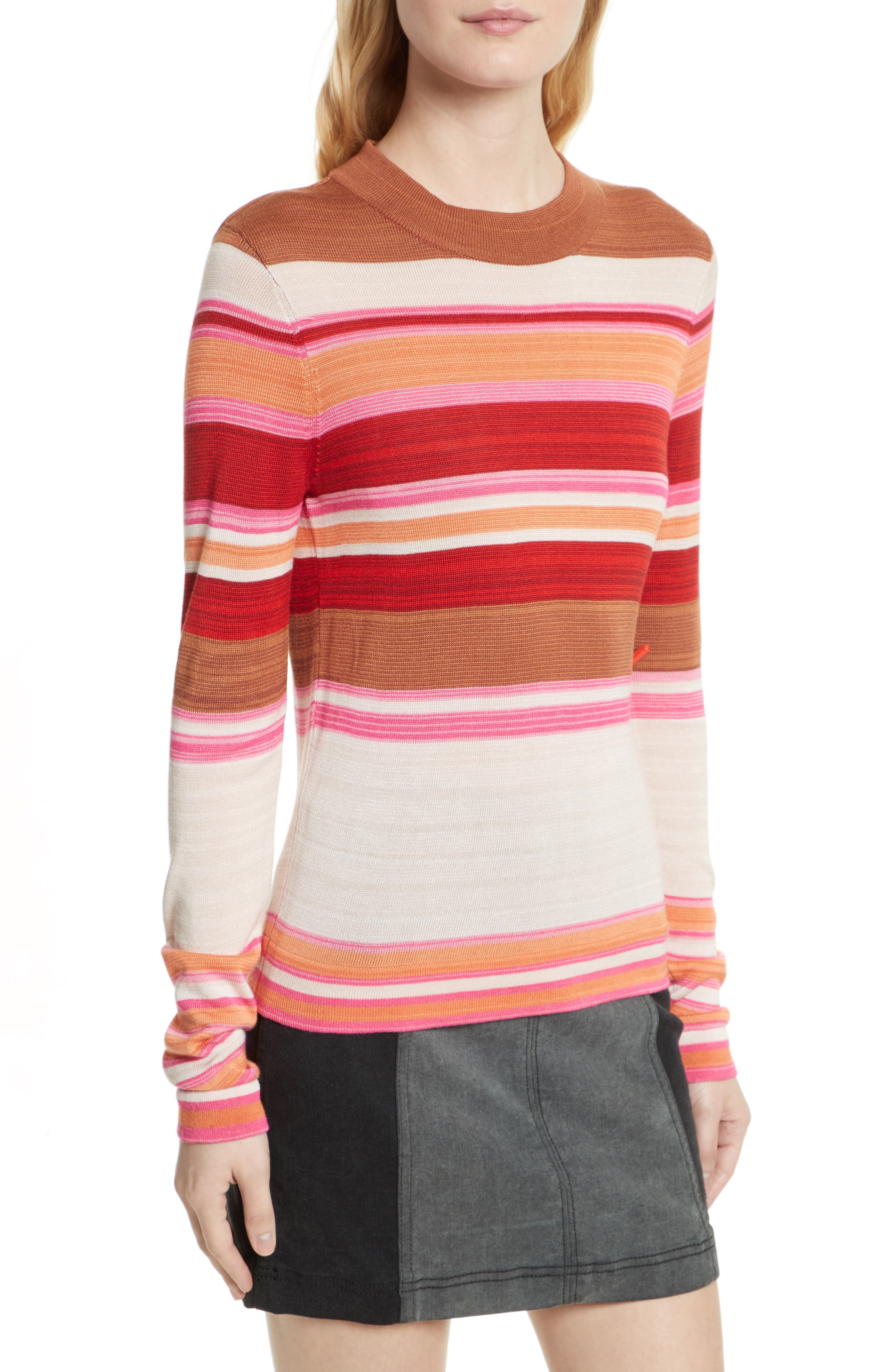 Alternate Image 4  - Free People Show Off Your Stripes Sweater