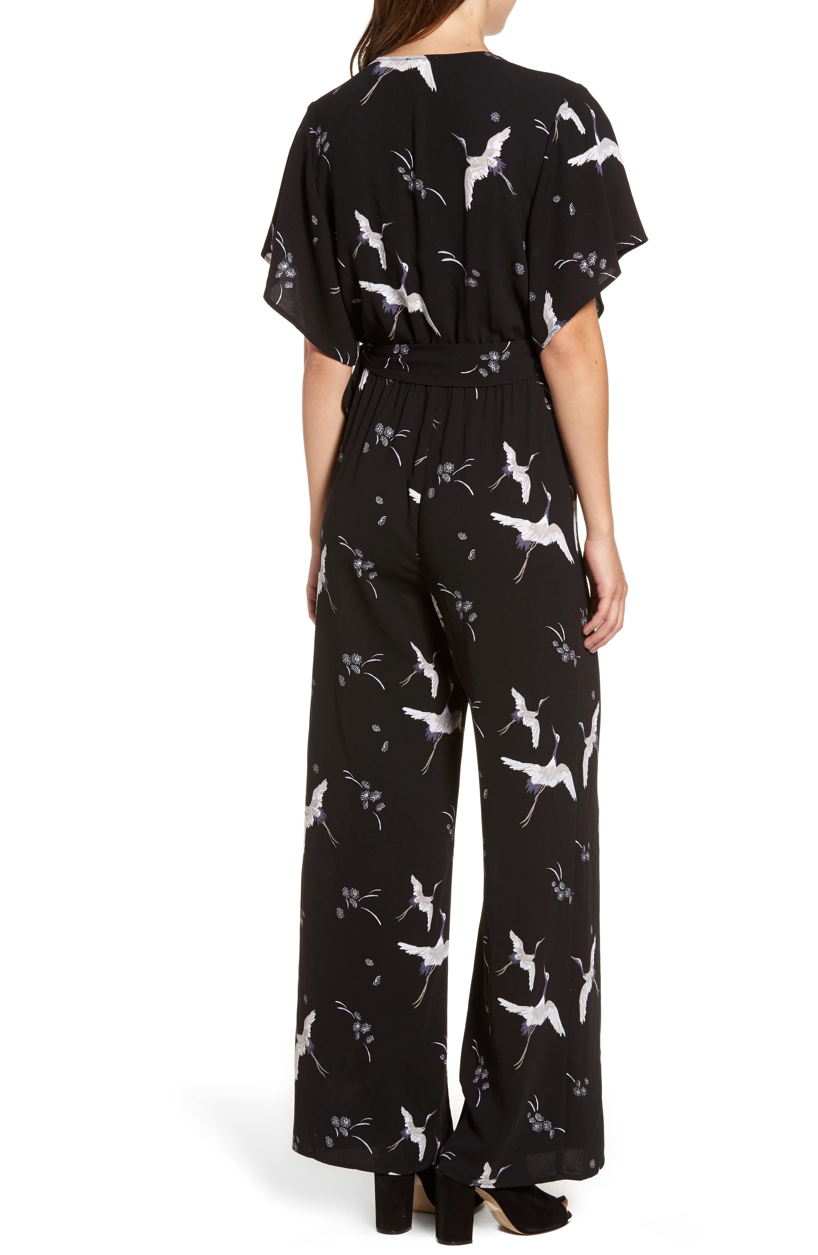 Alternate Image 3  - Leith Kimono Wrap Jumpsuit