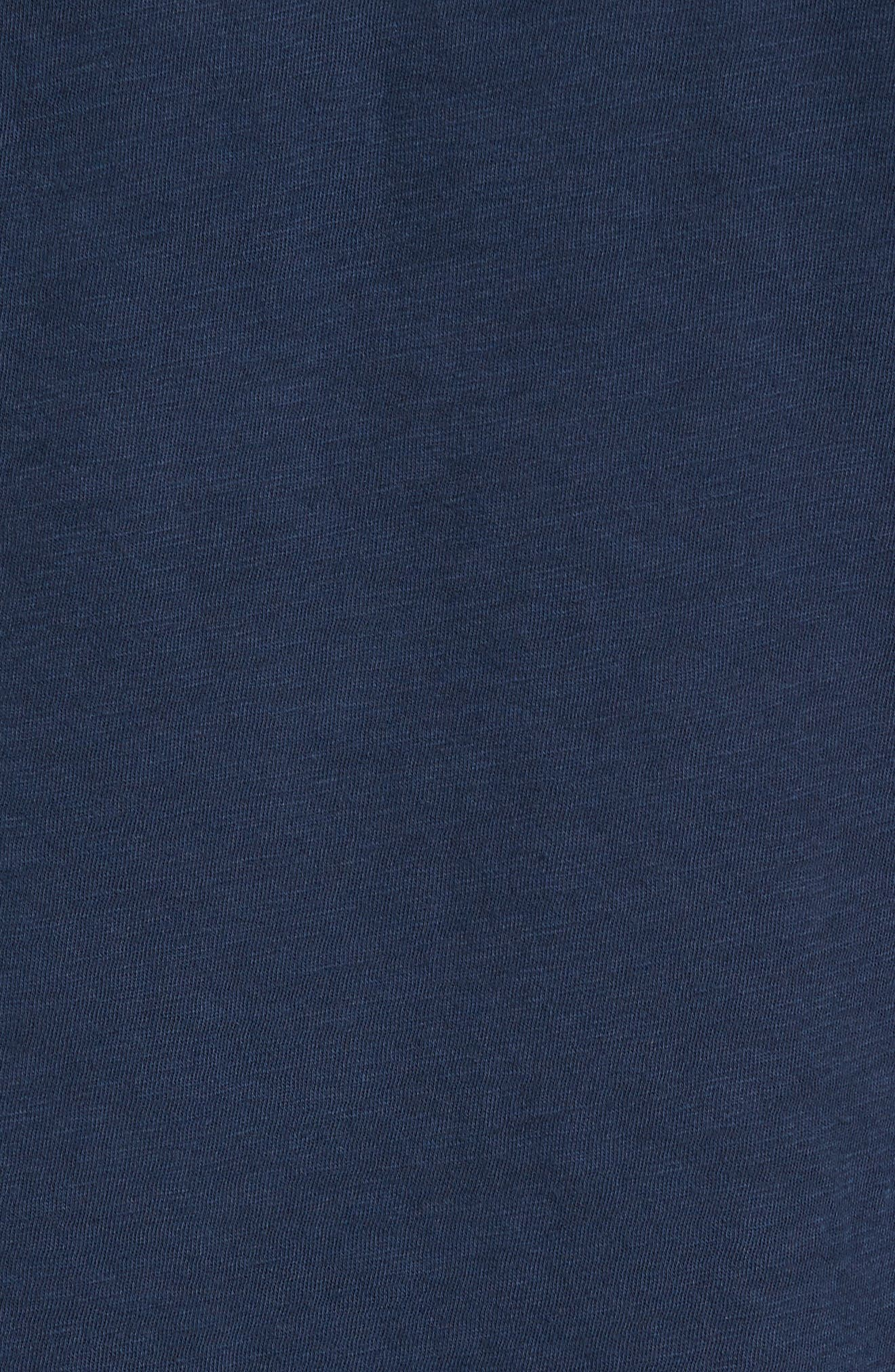 Chase Classic Crewneck T-Shirt,                             Alternate thumbnail 6, color,                             Navy