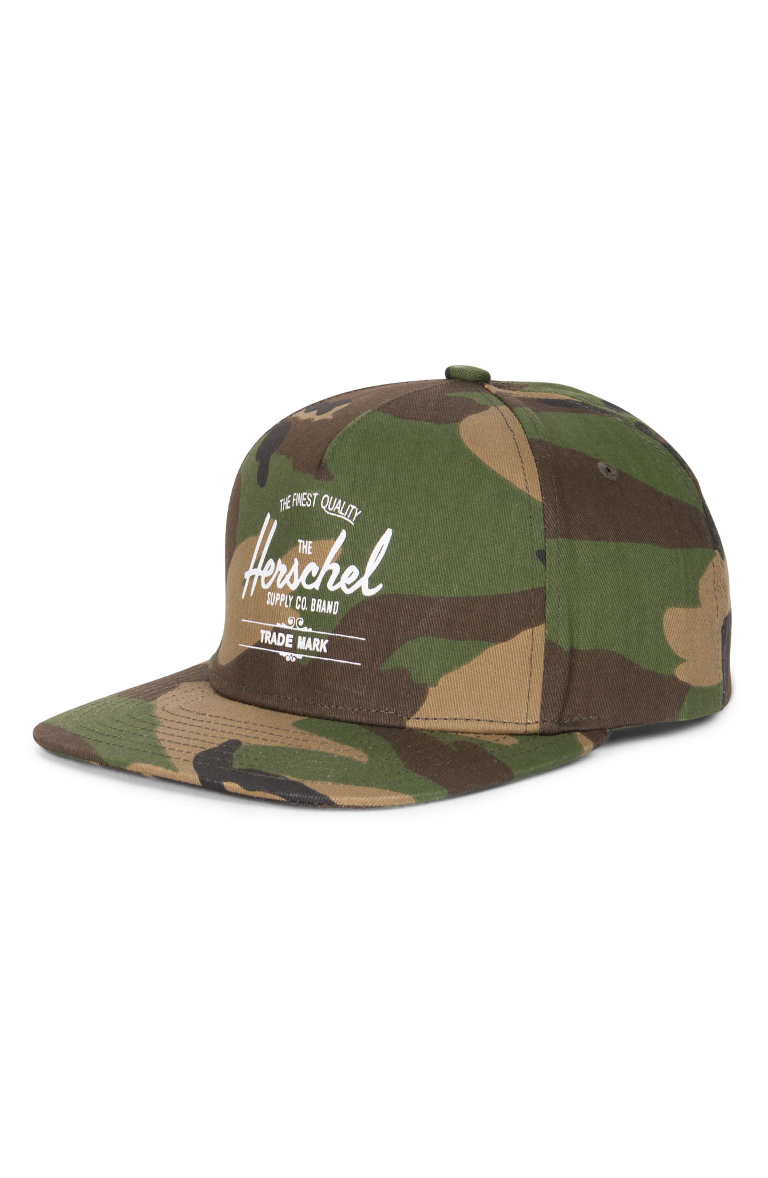 Alternate Image 1 Selected - Herschel Supply Co. Whaler Snapback Baseball Cap