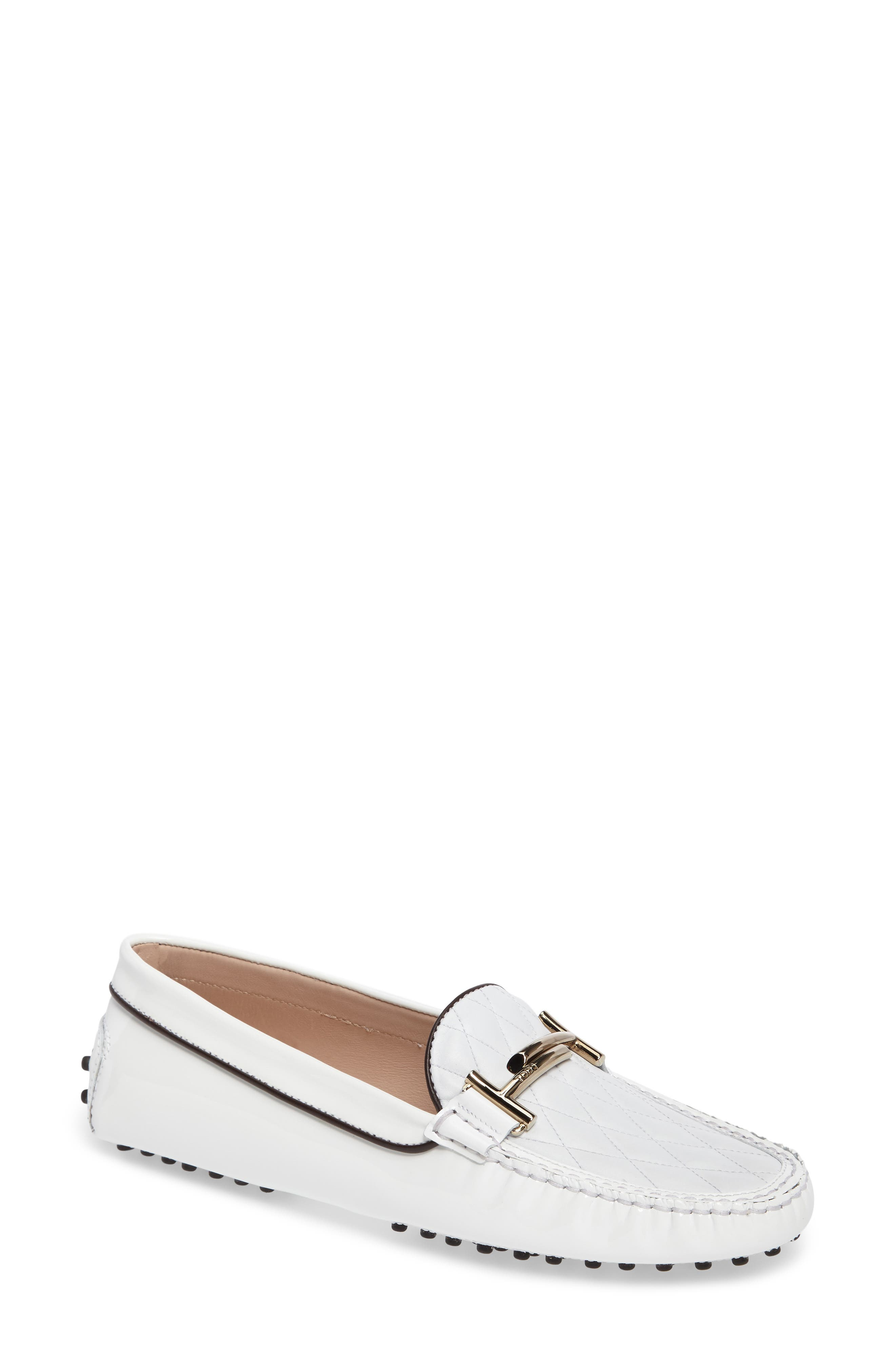 TODS Double T Quilted Gommino Loafer