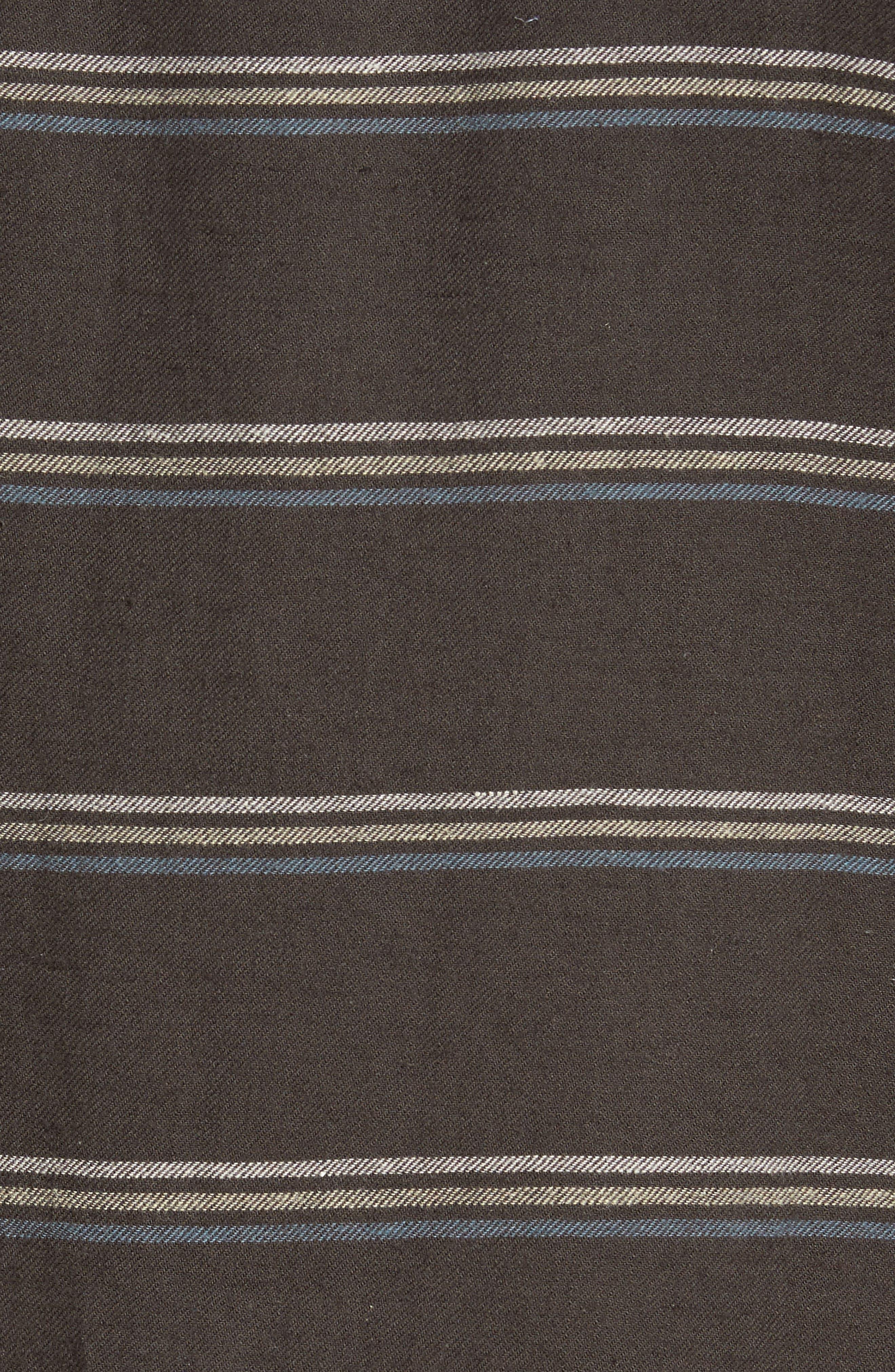 McKinley Stripe Shirt,                             Alternate thumbnail 5, color,                             Blackstone