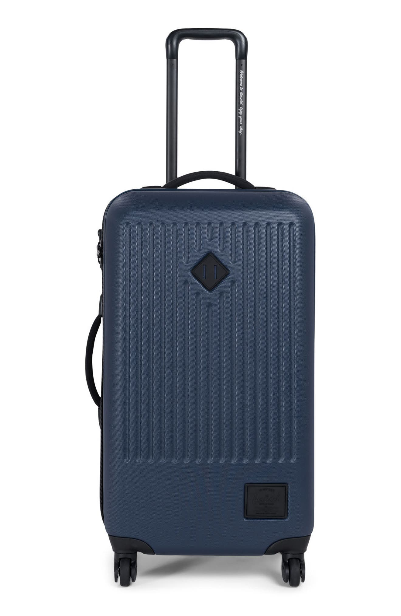 Trade Medium Wheeled Packing Case,                         Main,                         color, Navy