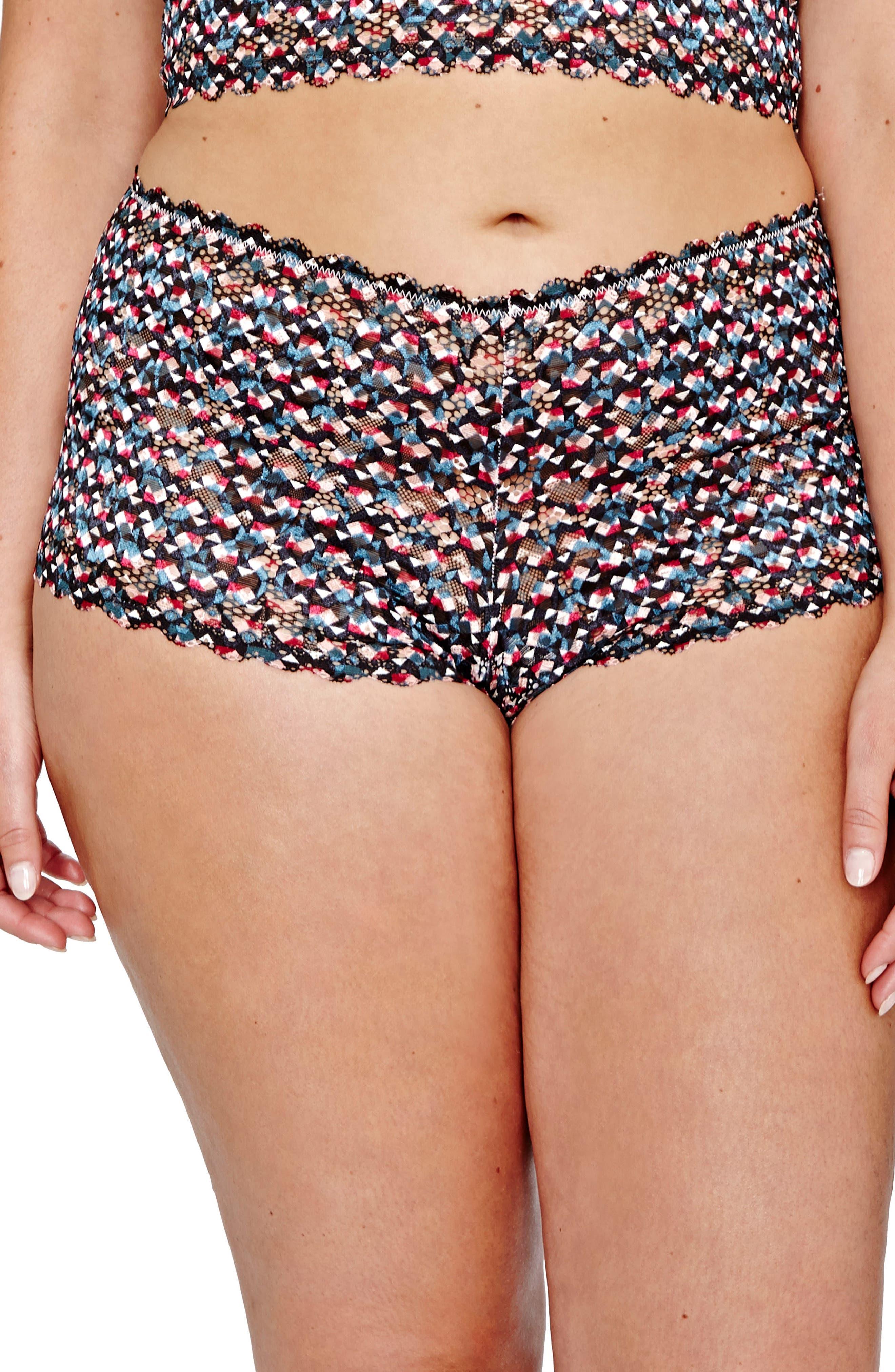 Déesse Lingerie by Addition Elle Brazilian Panties (Plus Size)