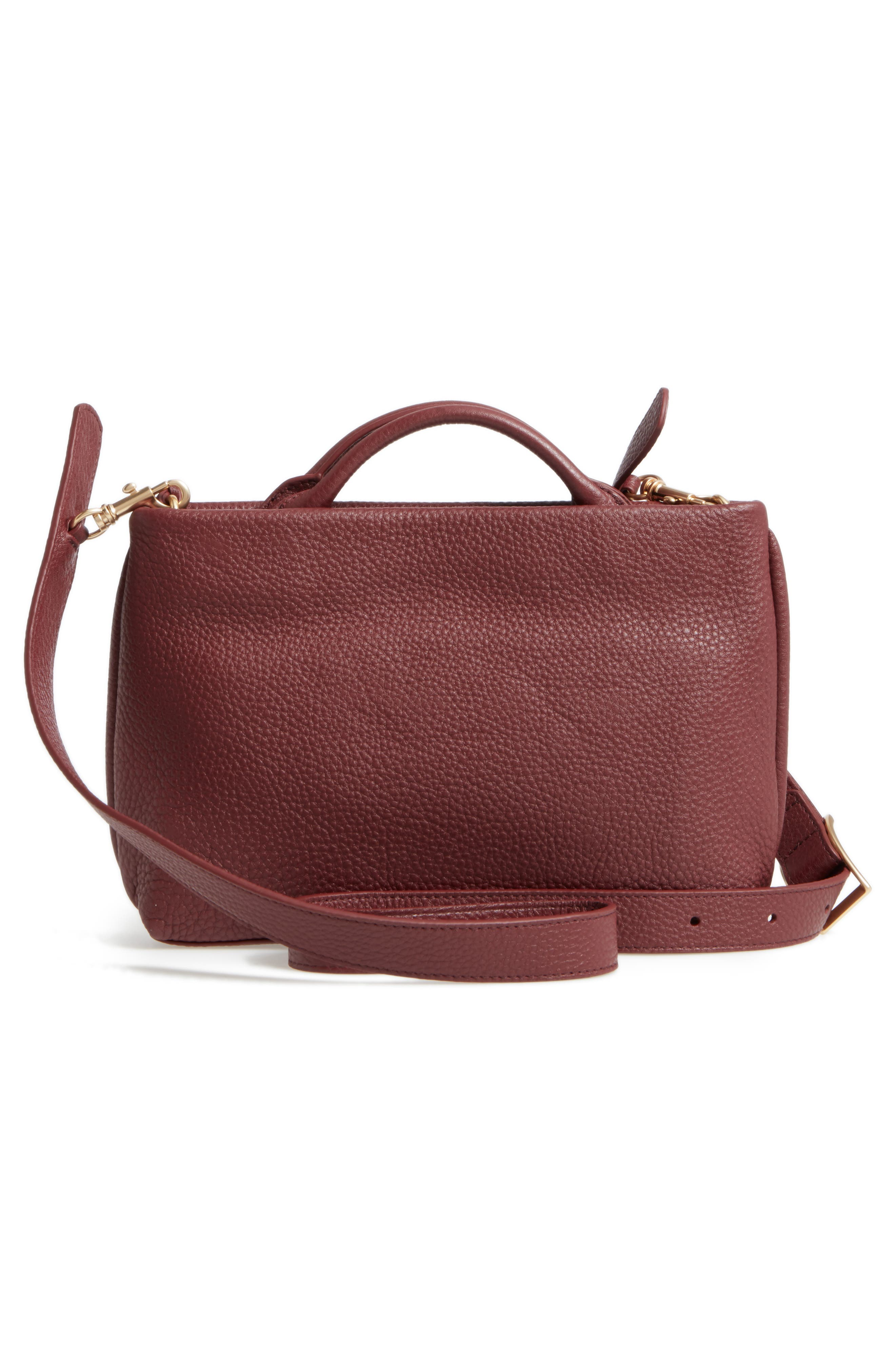 Alternate Image 2  - Skagen Mikkeline Mini Leather Satchel