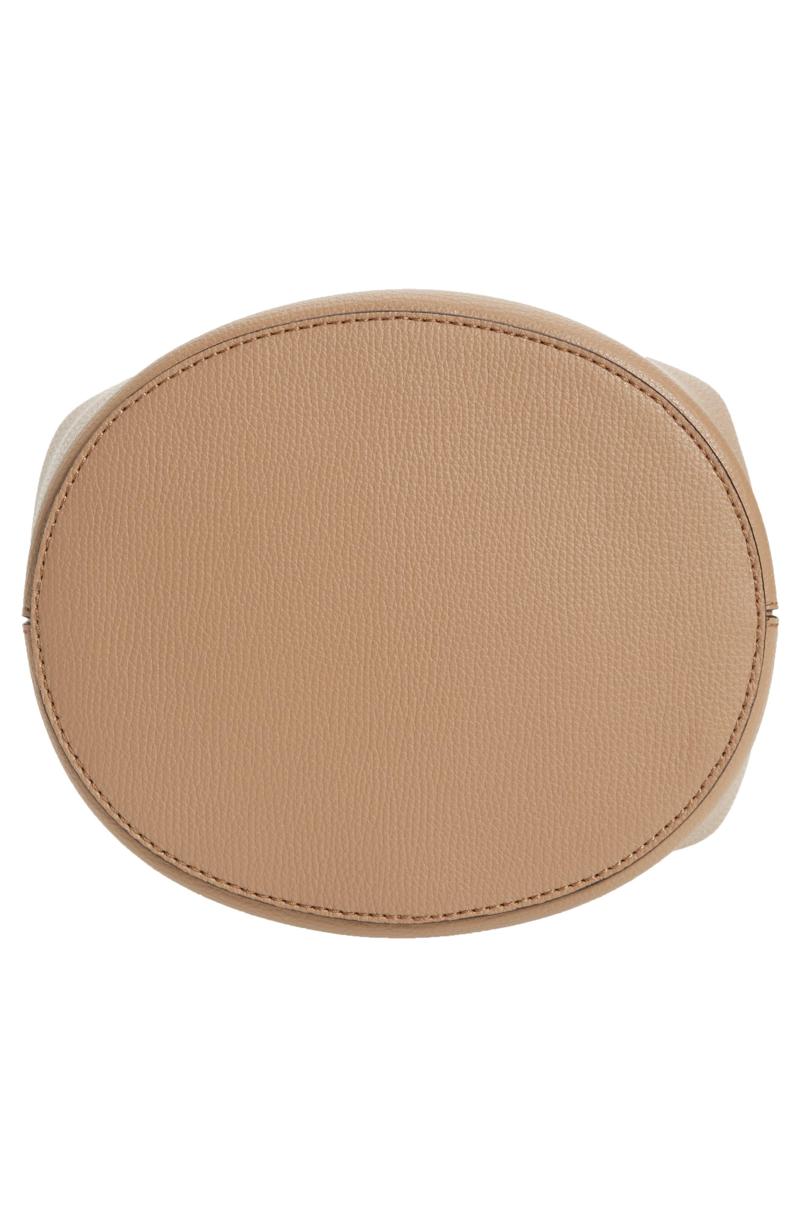Alternate Image 6  - Burberry Small Lorne Leather Bucket Bag