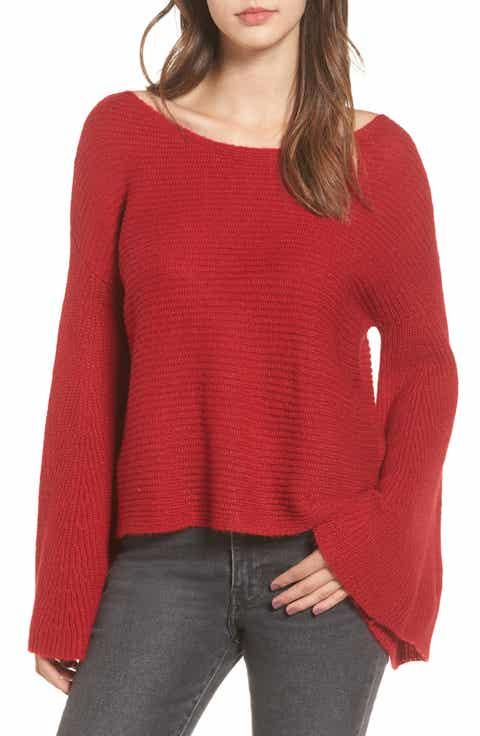 Juniors' Red & Teens' Sweaters | Nordstrom
