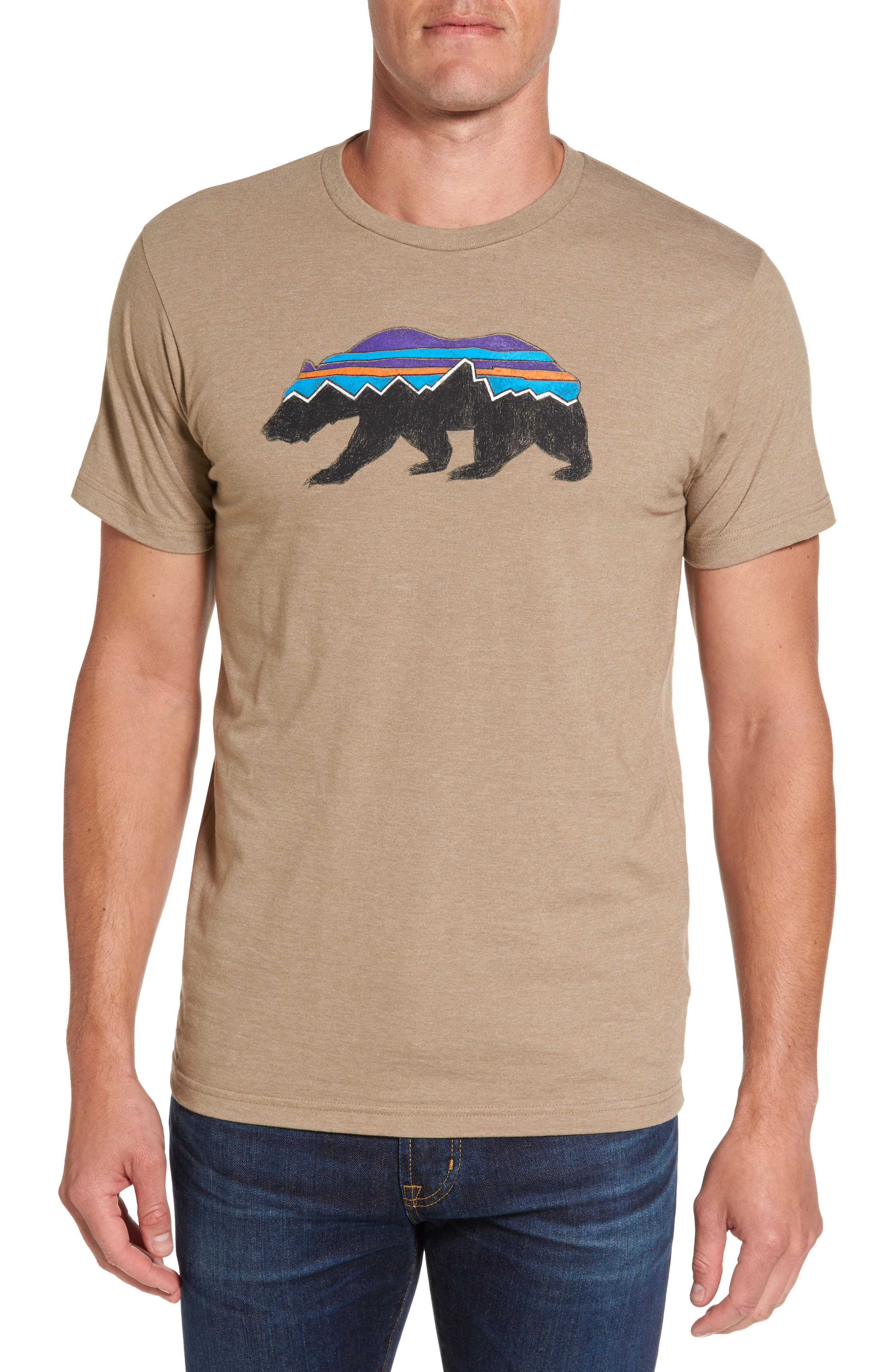 Patagonia Fitzroy Bear Graphic T-Shirt