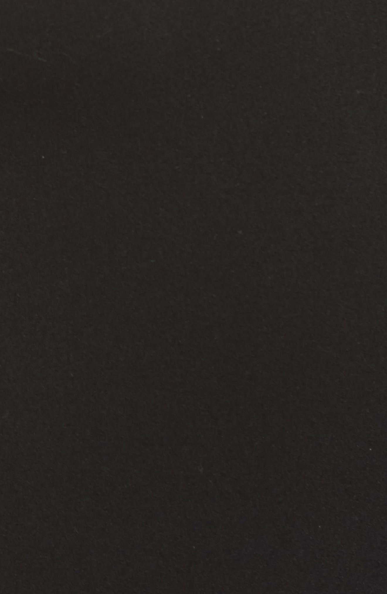 Ballet Thong Bodysuit,                             Alternate thumbnail 6, color,                             Black