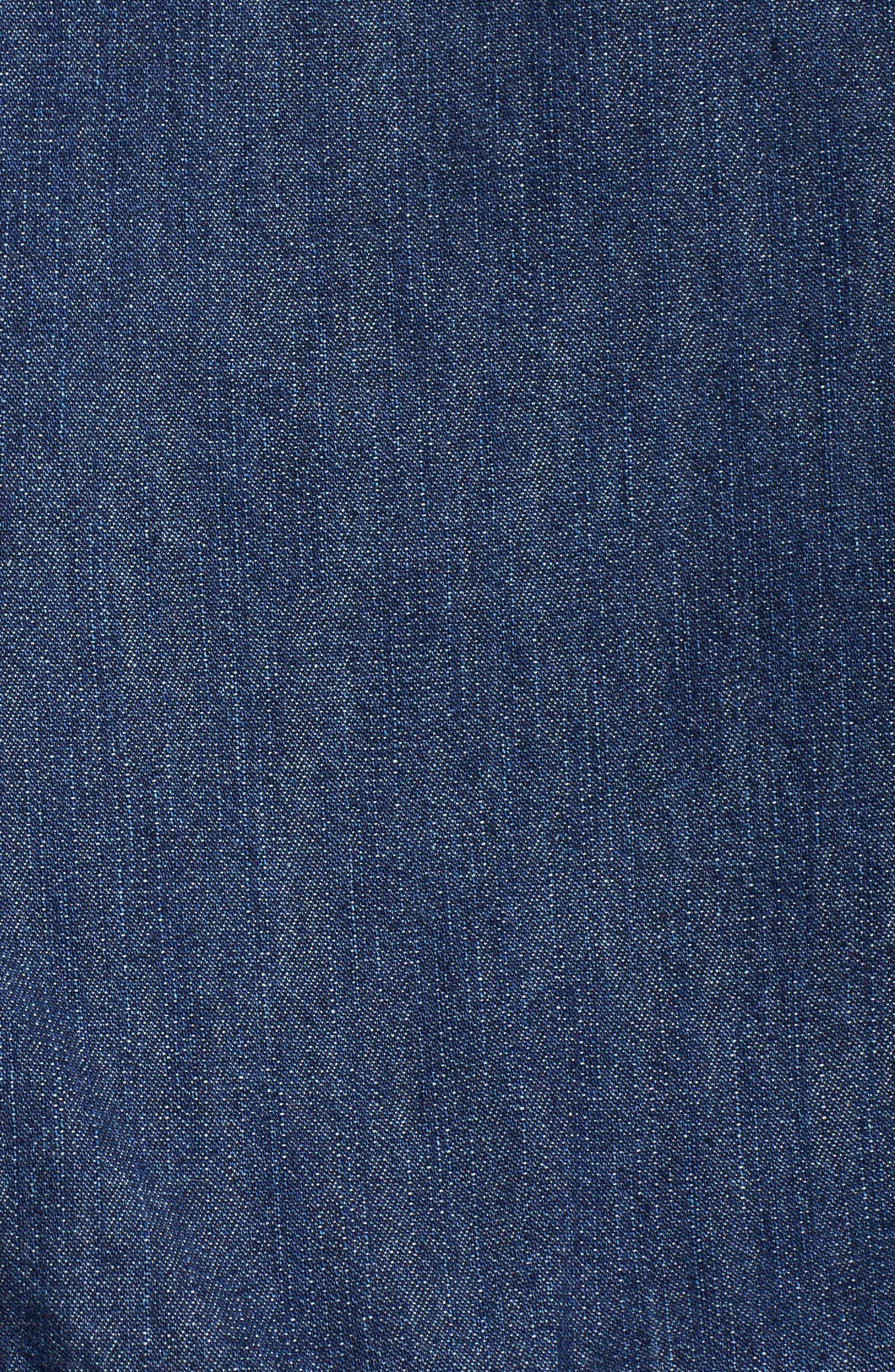 Alternate Image 5  - Sejour Denim Jacket (Plus Size)