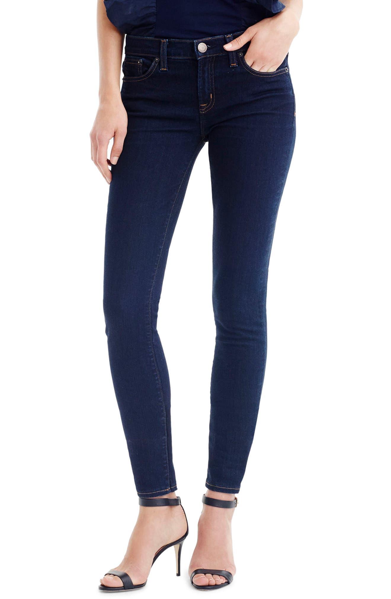 J.Crew Toothpick Jeans (Classic Rinse) (Regular & Petite)