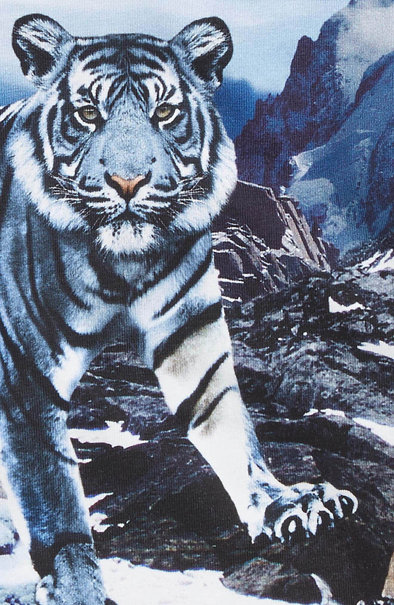Tiger Graphic T-Shirt,                             Alternate thumbnail 2, color,                             Blue Mountains