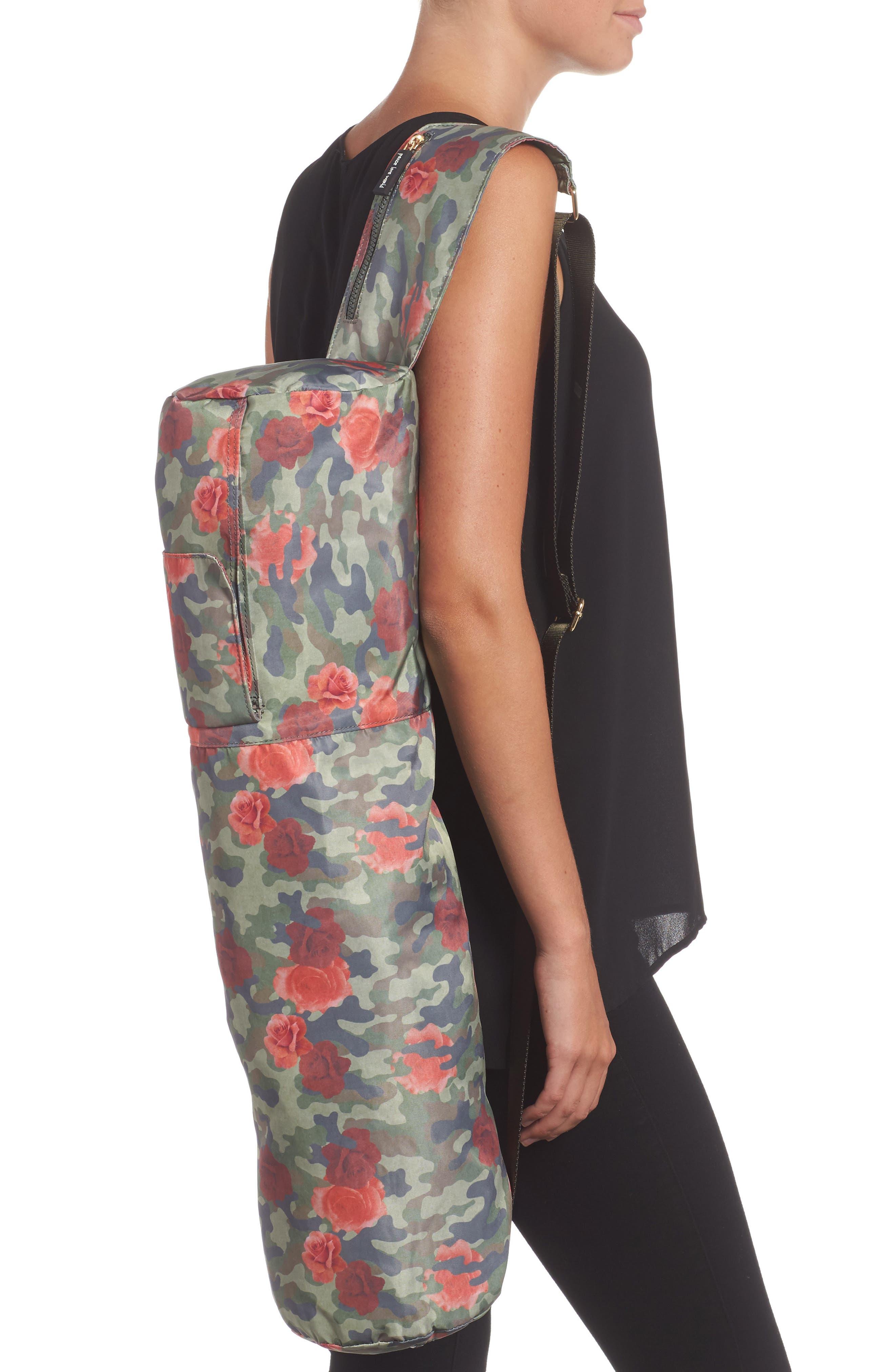 Alternate Image 6  - Peace Love World Nylon Yoga Bag