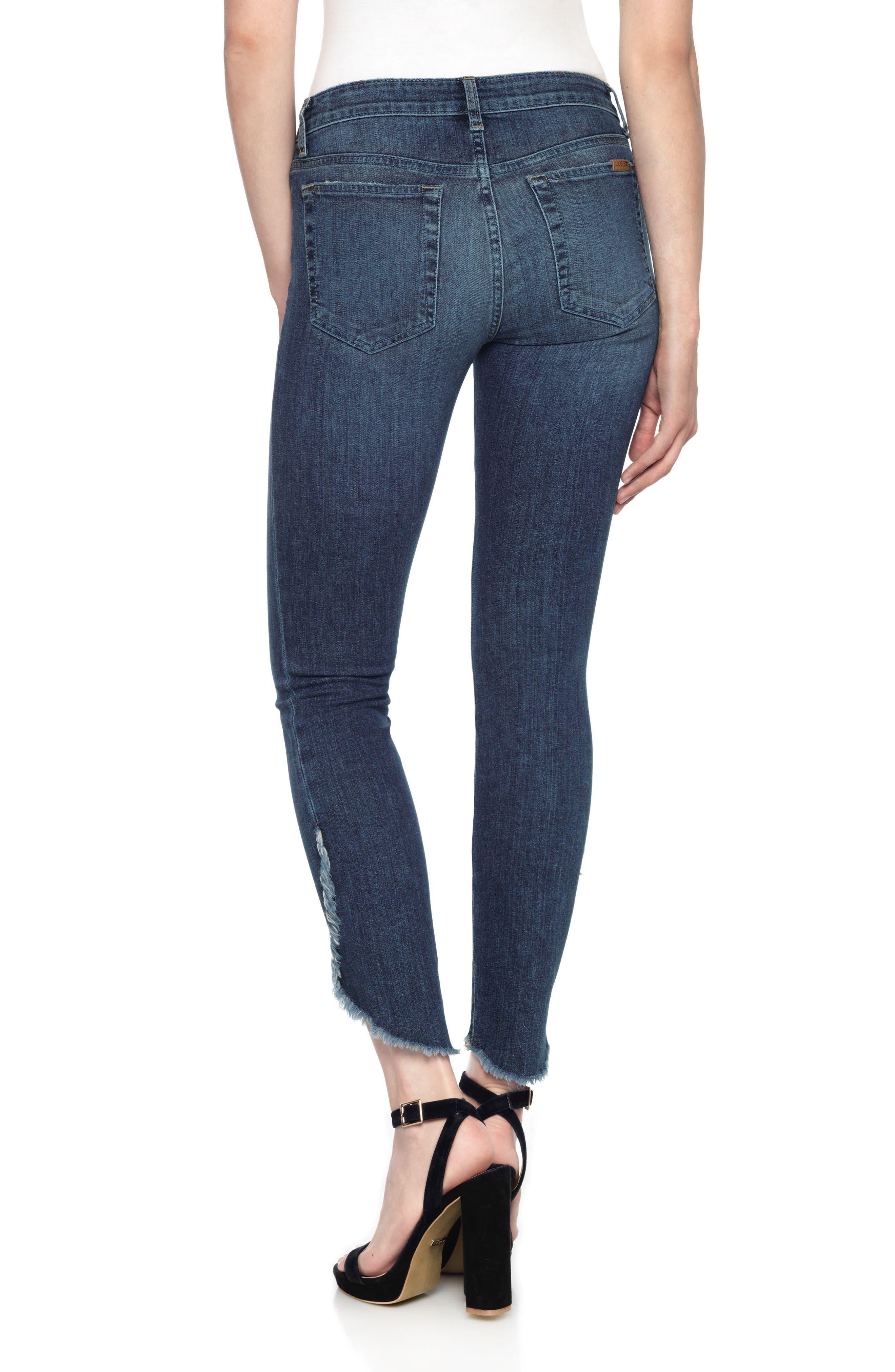 Alternate Image 2  - Joe's Icon Tulip Hem Ankle Jeans (Salem)