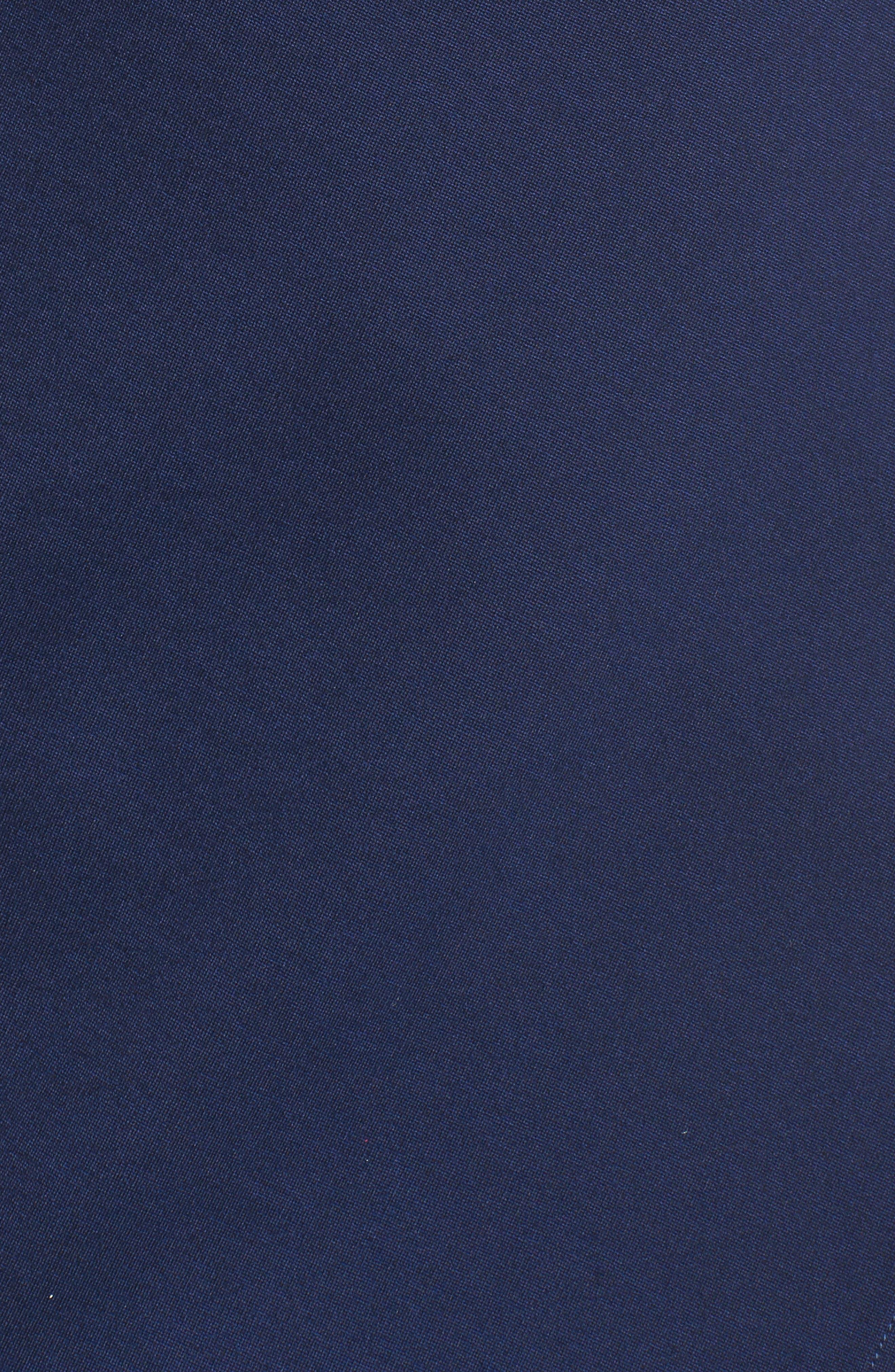 Brandi Tie Back Sheath Dress,                             Alternate thumbnail 5, color,                             Navy