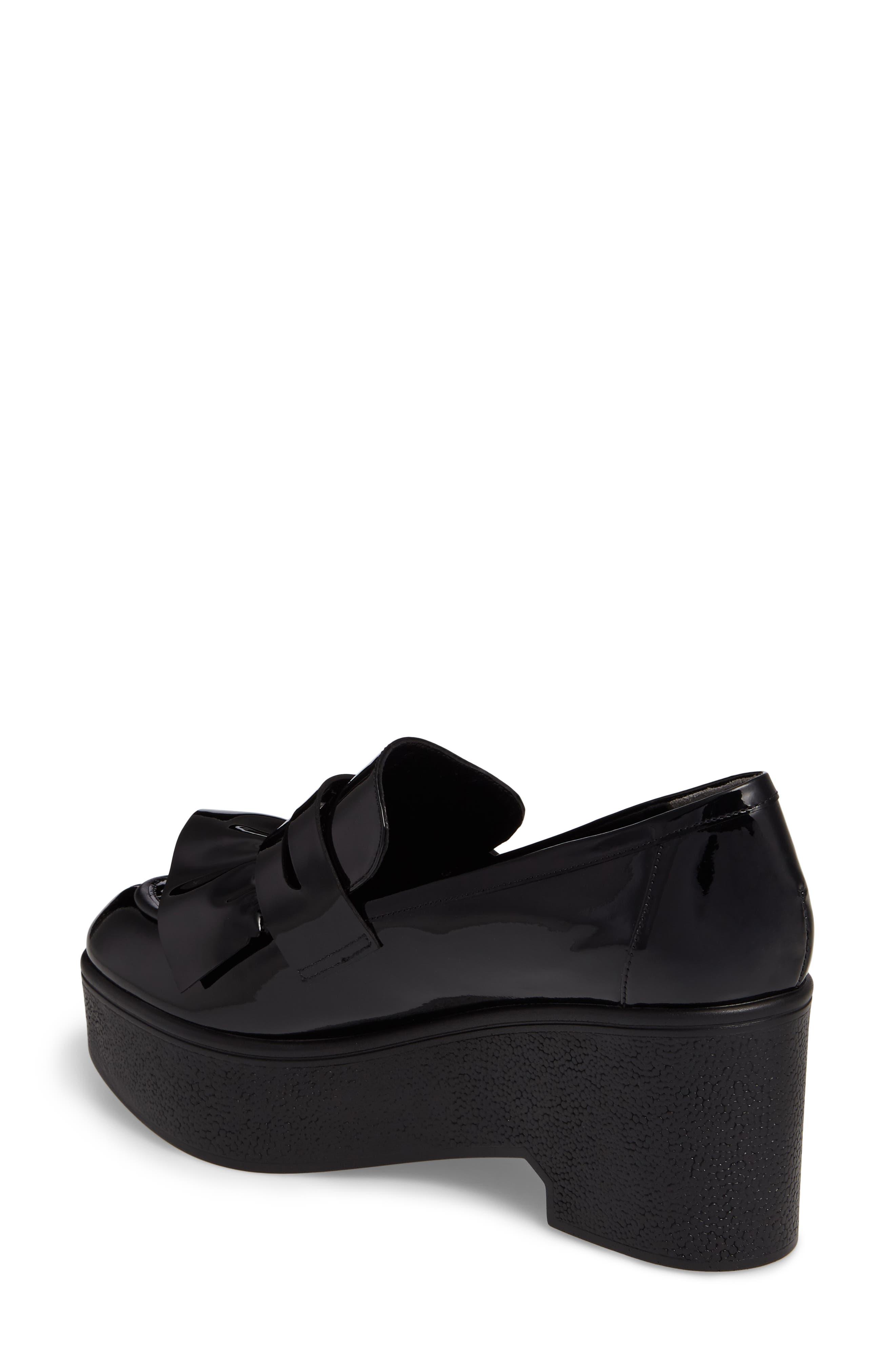 Xock Platform Loafer,                             Alternate thumbnail 2, color,                             Black