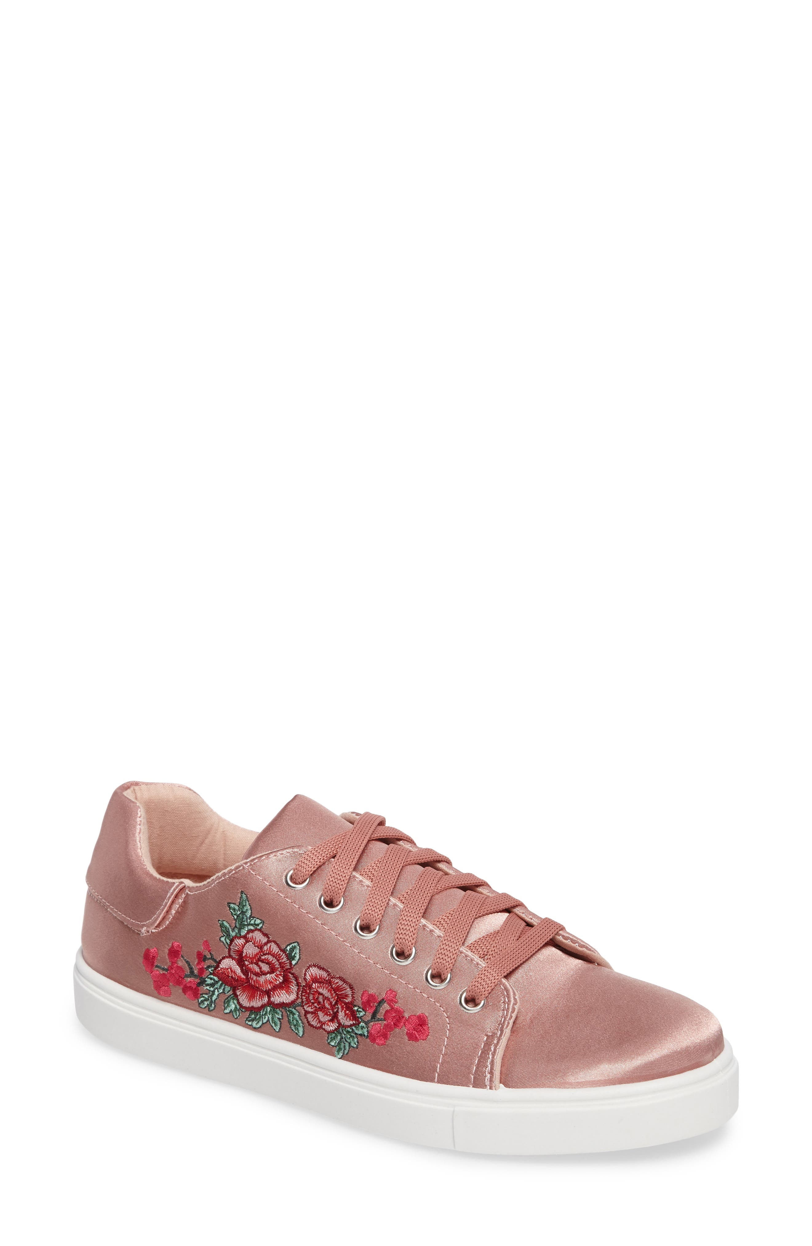 Topshop Camilla Embroidered Sneaker (Women)