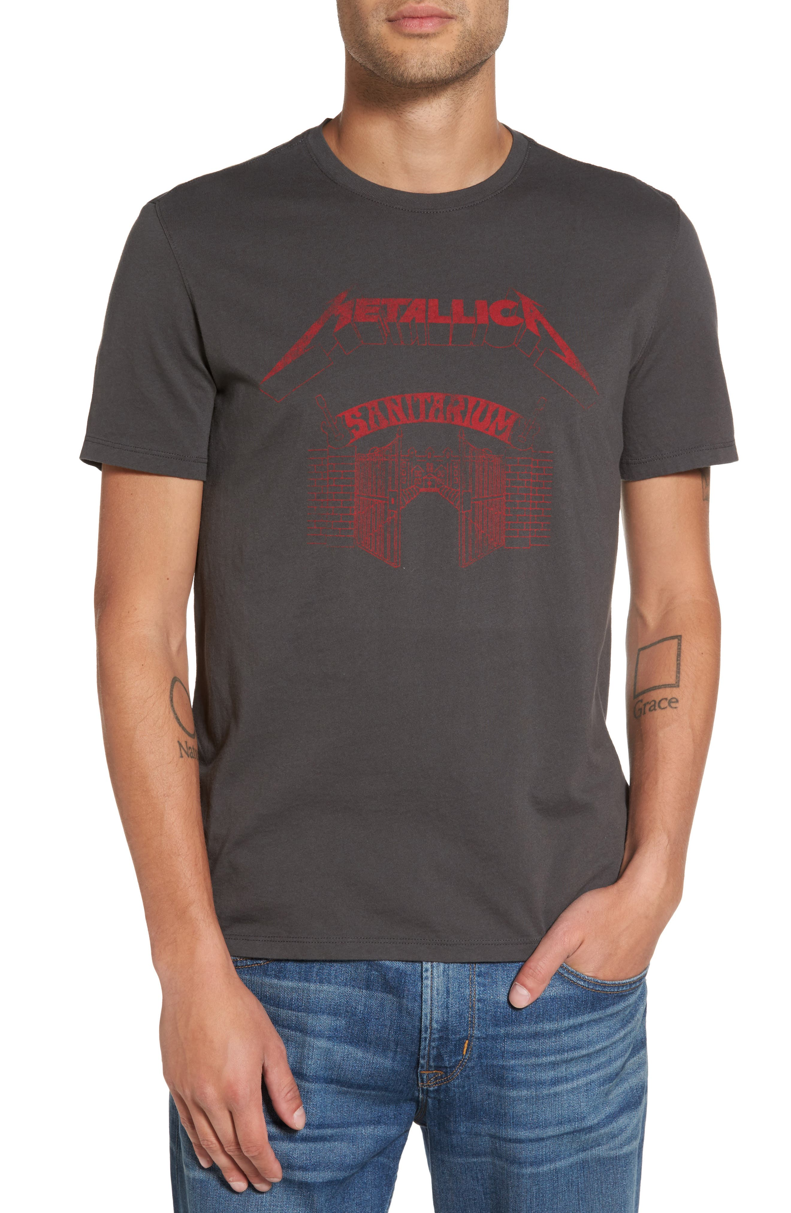 John Varvatos Star USA Metallica Sanitarium Graphic T-Shirt