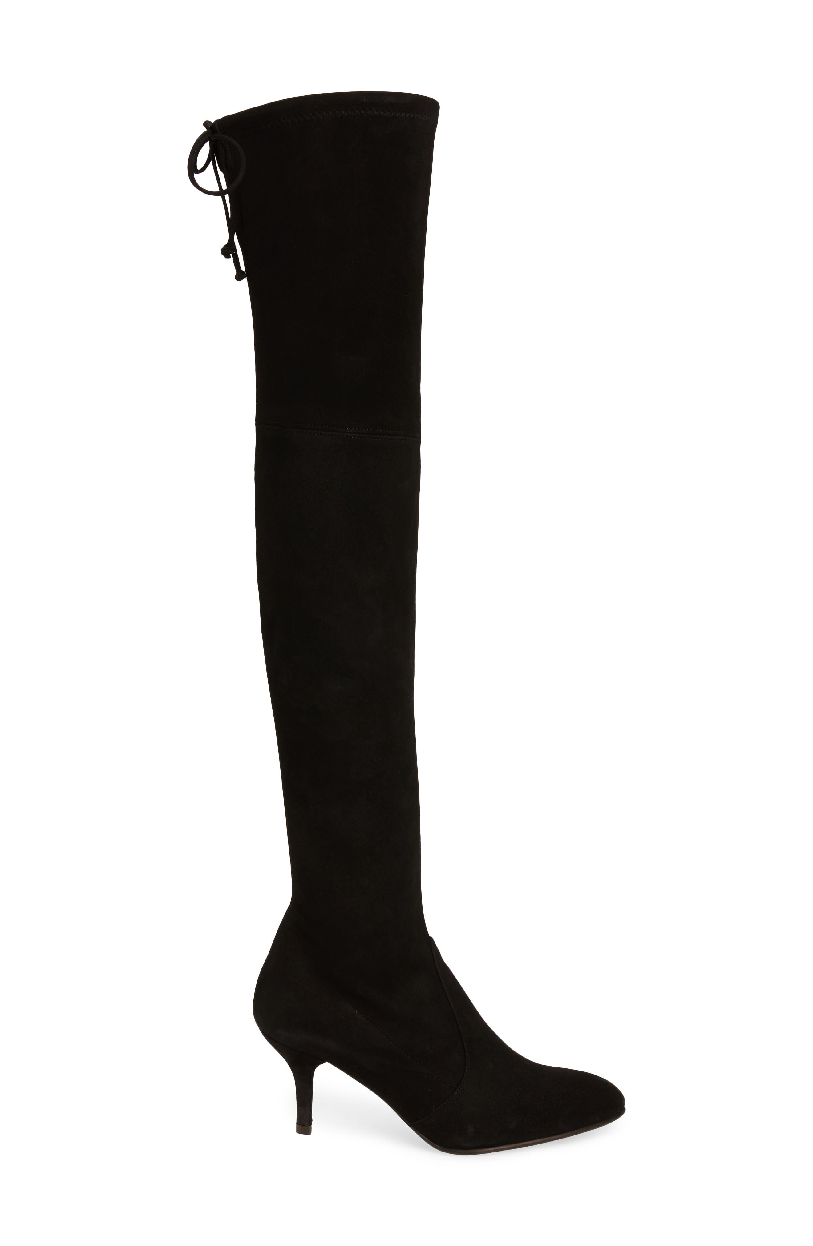Alternate Image 3  - Stuart Weitzman Tiemodel Over the Knee Stretch Boot (Women)