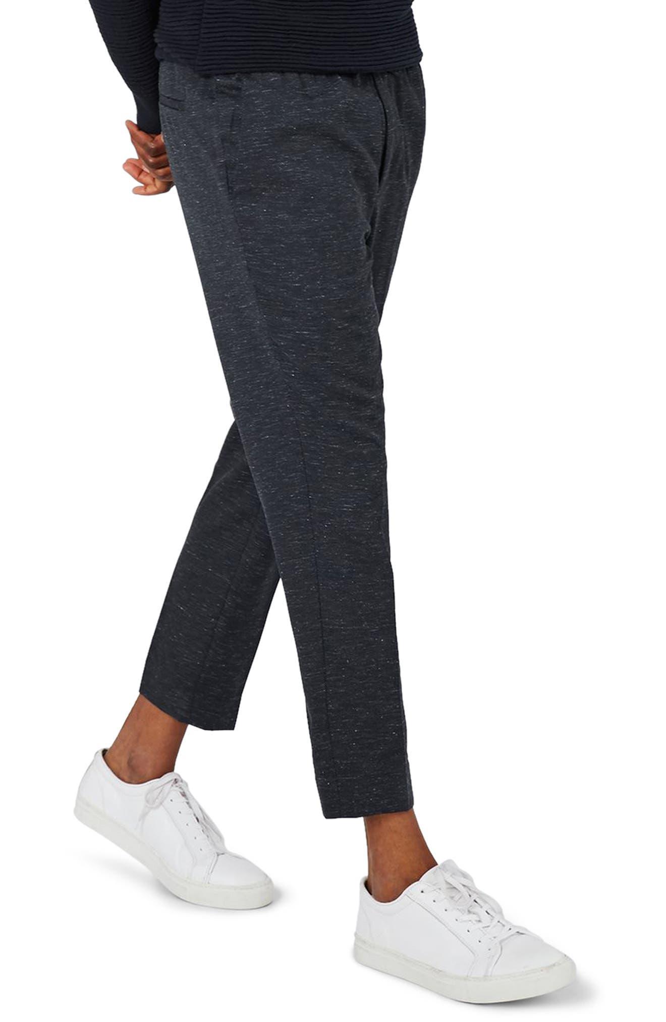 Romeo Flecked Jogger Pants,                         Main,                         color, Mid Blue