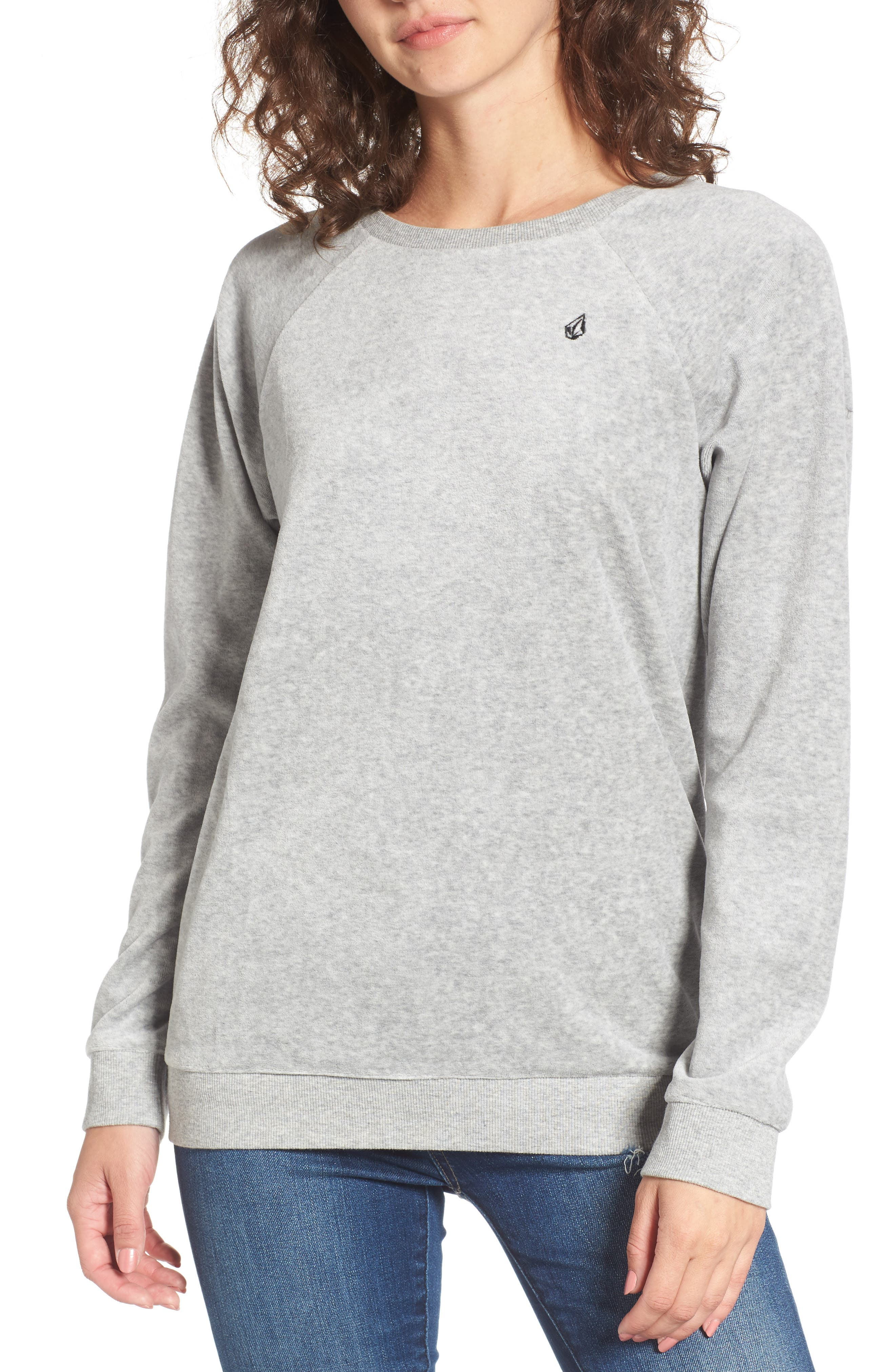 Alternate Image 1 Selected - Volcom Gotta Crush Raglan Sweatshirt