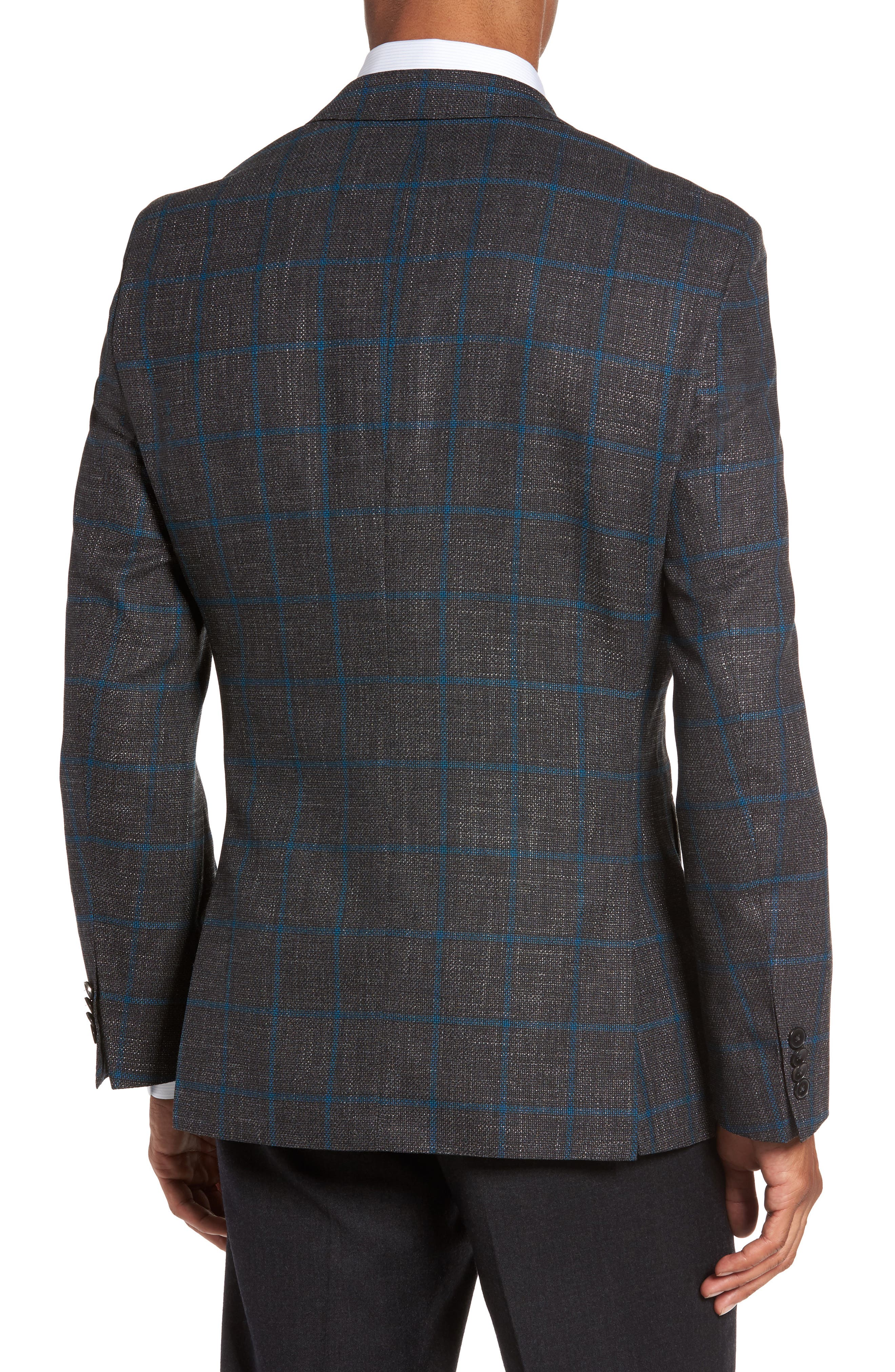 Alternate Image 2  - BOSS Jeen Classic Fit Wool Sport Coat