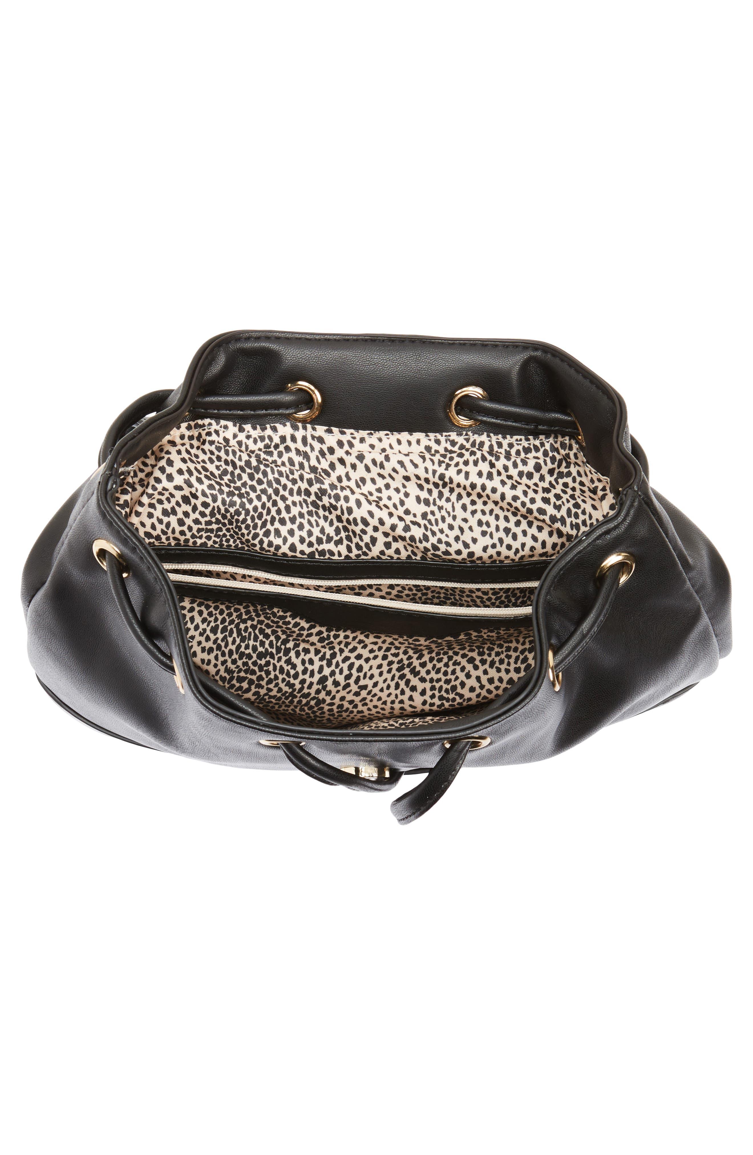 Alternate Image 3  - BP. Drawstring Faux Leather Backpack