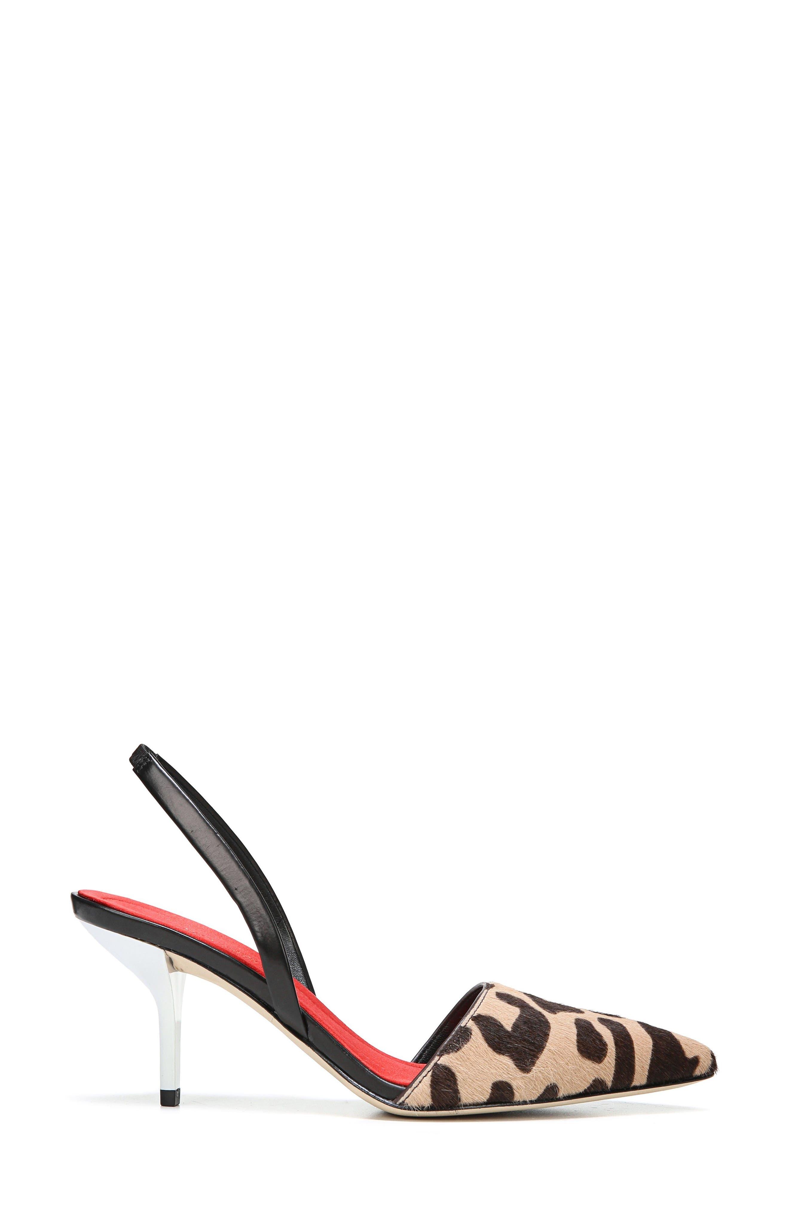 Alternate Image 3  - Diane von Furstenberg Mortelle Genuine Calf Hair d'Orsay Pump (Women)
